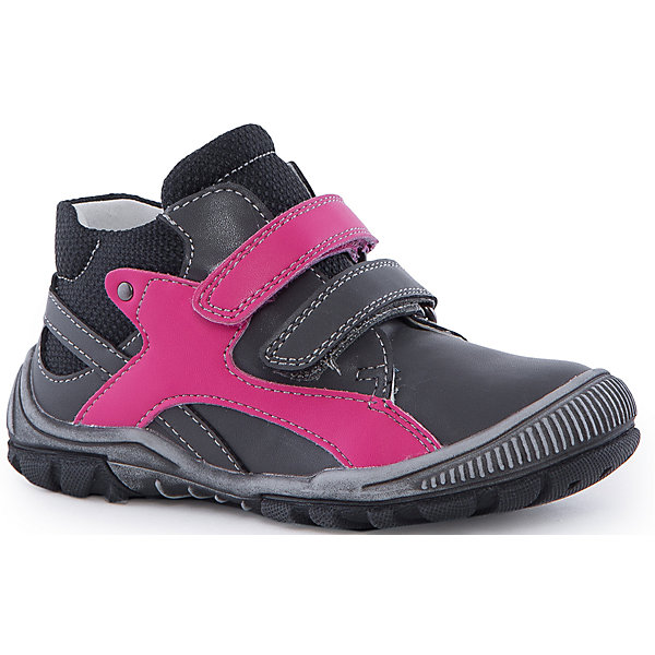 Ботинки для девочки PlayTodayОбувь для малышей<br>Ботинки для девочки от известного бренда PlayToday.<br>Стильные полуботинки для девочки. Внутри мягкая полуортопедическая стелька и подкладка с содержанием 80% шерсти. Высокая гибкая подошва с рифлением не скользит. Наполненная носочная часть способствует правильному формированию стопы. Удобно застегивается на липучки.<br>Состав:<br>100% Искусственная кожа<br>Ширина мм: 262; Глубина мм: 176; Высота мм: 97; Вес г: 427; Цвет: серый; Возраст от месяцев: 18; Возраст до месяцев: 21; Пол: Женский; Возраст: Детский; Размер: 23,25,24,22,21,20; SKU: 4901211;