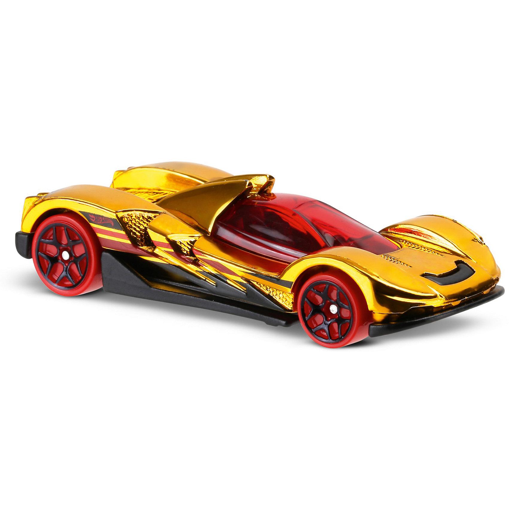 Mattel Машинка Hot Wheels из базовой коллекции электромеханическая машинка синяя 33 см hot wheels