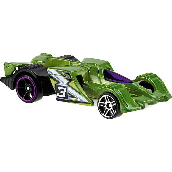 Машинка Hot Wheels из базовой коллекцииМашинки<br>Машинка Hot Wheels из базовой коллекции – высококачественная масштабная модель машины, имеющая неординарный, радикальный дизайн. <br><br>В упаковке 1 машинка,  машинки тематически обусловлены от фантазийных, спасательных до экстремальных и просто скоростных машин. <br><br>Соберите свою коллекцию машинок Hot Wheels!<br><br>Дополнительная информация: <br><br>Машинка стандартного размера Hot Wheels<br>Размер упаковки: 11 х 10,5 х 3,5 см<br><br>Ширина мм: 110<br>Глубина мм: 45<br>Высота мм: 110<br>Вес г: 30<br>Возраст от месяцев: 36<br>Возраст до месяцев: 96<br>Пол: Мужской<br>Возраст: Детский<br>SKU: 4901787