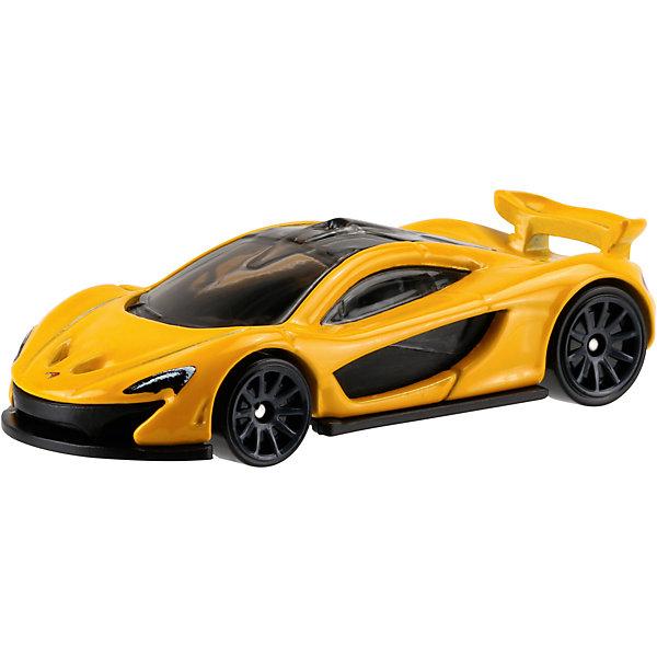 Машинка Hot Wheels из базовой коллекцииПопулярные игрушки<br>Машинка Hot Wheels из базовой коллекции – высококачественная масштабная модель машины, имеющая неординарный, радикальный дизайн. <br><br>В упаковке 1 машинка,  машинки тематически обусловлены от фантазийных, спасательных до экстремальных и просто скоростных машин. <br><br>Соберите свою коллекцию машинок Hot Wheels!<br><br>Дополнительная информация: <br><br>Машинка стандартного размера Hot Wheels<br>Размер упаковки: 11 х 10,5 х 3,5 см<br><br>Ширина мм: 110<br>Глубина мм: 45<br>Высота мм: 110<br>Вес г: 30<br>Возраст от месяцев: 36<br>Возраст до месяцев: 96<br>Пол: Мужской<br>Возраст: Детский<br>SKU: 4901794