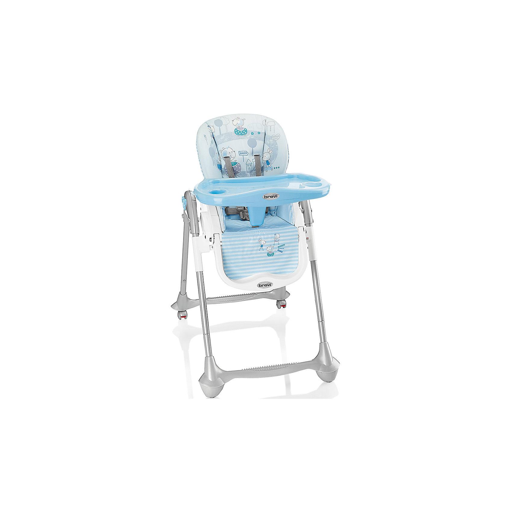 Стульчик для кормления Convivio, Brevi, голубой/полоскиConvivio, Brevi (брэви) – стульчик для кормления детей от 6 месяцев до 3 лет. Есть три положения спинки для удобства ребенка, три положения подножки и четыре уровня сиденья. Кроме того, привлекательная расцветка превратит любое кормление в настоящее удовольствие для вас и вашего малыша.<br>Особенности и преимущества:<br>-колеса с фиксатором для удобства перемещения стульчика<br>-легкомоющиеся материалы<br>-5-точечные ремни для максимальной безопасности малыша<br>-двойной съемный поднос<br>-очень компактен в собранном виде<br>Размеры: 33x57x68 см<br>Вес: 10,3 кг<br>ВНИМАНИЕ! Данный артикул имеется в наличии в разных цветовых исполнениях (св.серый/лисички, розовый/зайчик, оранжевый/сафари, голубой/полоски, бежевый/мишка). К сожалению, заранее выбрать определенный цвет не возможно.<br>Вы можете приобрести стульчик для кормления Convivio в нашем интернет-магазине<br><br>Ширина мм: 680<br>Глубина мм: 570<br>Высота мм: 330<br>Вес г: 10300<br>Возраст от месяцев: 6<br>Возраст до месяцев: 36<br>Пол: Мужской<br>Возраст: Детский<br>SKU: 4902075