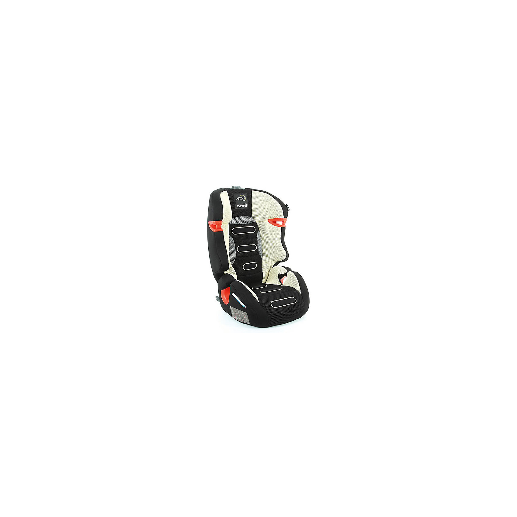 Автокресло ASTON B.Fix 15-36 кг., Brevi, бежевый/черный