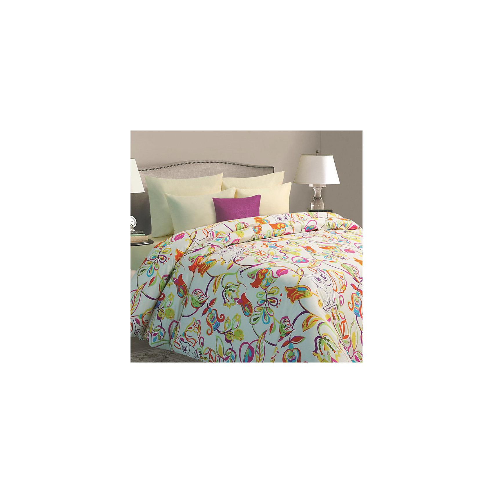 Мона Лиза Постельное белье Sova, 1,5-спальный, 70*70, Батист, Mona Liza постельное белье mona liza комплект постельного белья