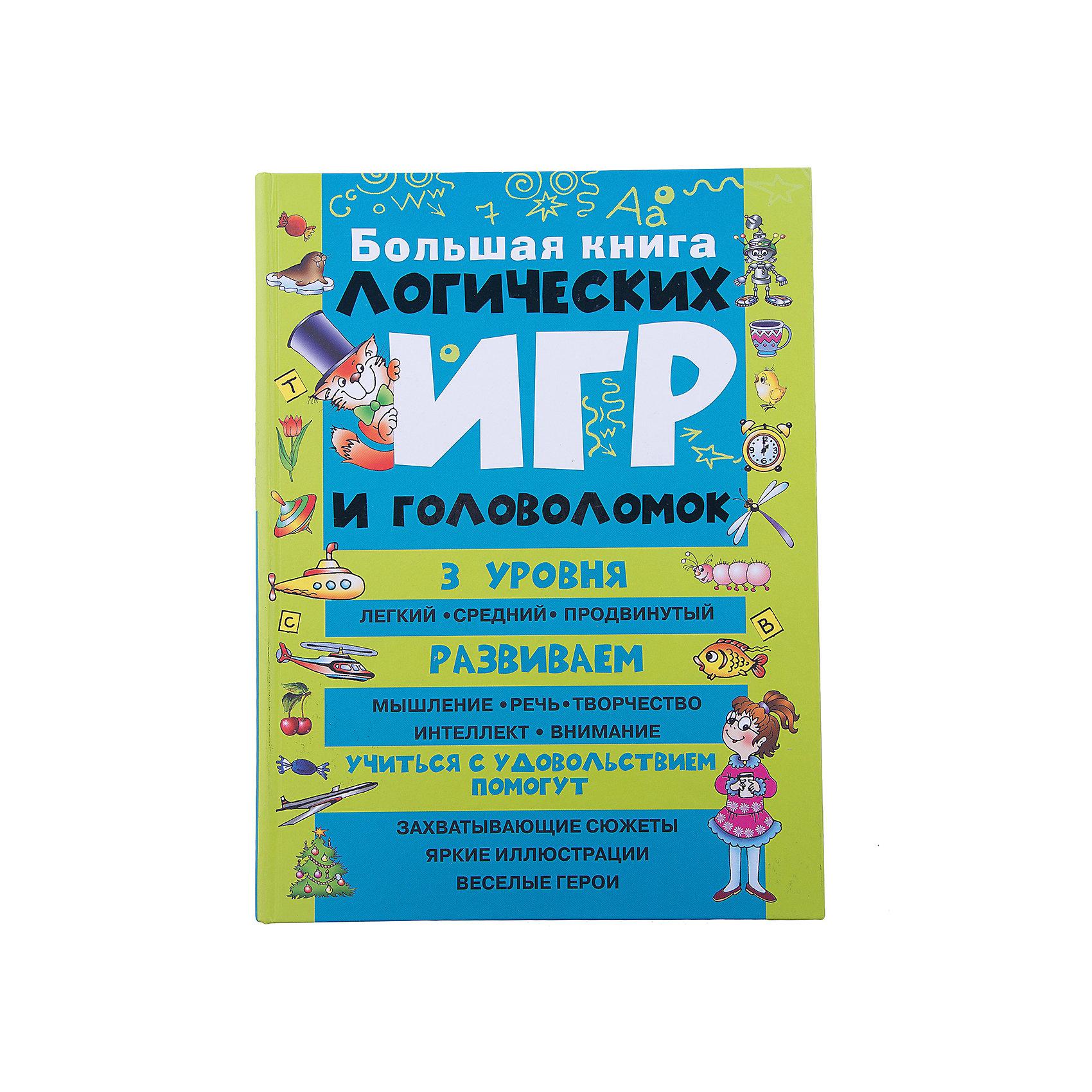 Большая книга логических игр и головоломок Малыш