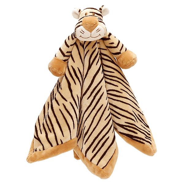 Игрушка-салфетка Тигр Динглисар, Динглисар, TeddykompanietМягкие игрушки животные<br>Игрушка-салфетка Тигр Динглисар, Динглисар, Teddykompaniet (Тэдди и компания) <br>Салфетка-игрушка Тигр, Динглисар от шведской компании Teddykompaniet – это большая мягкая салфетка с симпатичным улыбающимся тигренком в центре. С ней ваш малыш может играть или засыпать. Во время сна салфетка защитит одежду и постельное белье от срыгиваний. Салфетку удобно брать с собой в дорогу или в гости, с ней малыш чувствует себя защищенным и спокойнее спит. Изготовлена из мягкого безворсового грязе- и пылеотталкивающего велюра. Полностью соответствует европейским и российским стандартам качества, что позволяет использовать ее детям, склонным к аллергии.<br><br>Дополнительная информация:<br><br>- Размер: 35 х 35 см.<br>- Материал: нежный безворсовый велюр<br>- Уход: ручная стирка<br><br>Игрушку-салфетку Тигр Динглисар, Динглисар, Teddykompaniet (Тэдди и компания) можно купить в нашем интернет-магазине.<br><br>Ширина мм: 50<br>Глубина мм: 100<br>Высота мм: 100<br>Вес г: 350<br>Возраст от месяцев: 3<br>Возраст до месяцев: 12<br>Пол: Унисекс<br>Возраст: Детский<br>SKU: 4902217