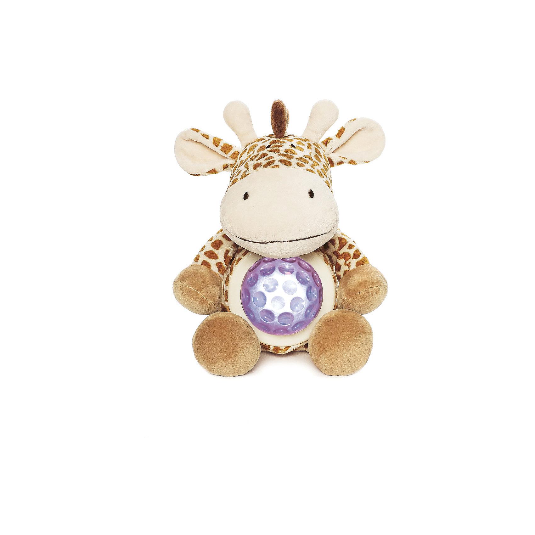 Ночник Жираф, Динглисар, TeddykompanietНочники и проекторы<br>Ночник Жираф, Динглисар, Teddykompaniet (Тэдди и компания) - подарит уют и спокойствие вашему малышу.<br>Ночник в виде милого улыбающегося жирафика создаст спокойную атмосферу, идеальную для того, чтобы малыш мог легко и быстро заснуть. Ночник проецирует звездное небо и работает в двух режимах. В первом режиме мягкий прозрачный свет, во втором режиме – меняет цвета (3 цвета). Чтобы активировать работу ночника, необходимо нажать на животик жирафа. Продукция соответствует европейским и российским стандартам качества.<br><br>Дополнительная информация:<br><br>- Размер: 23 см.<br>- Материал: текстиль<br>- Предусмотрено автоматическое отключение после 10 мин непрерывной работы<br>- Батарейки: 3 типа АА (в комплект не входят)<br><br>Ночник Жираф, Динглисар, Teddykompaniet (Тэдди и компания) можно купить в нашем интернет-магазине.<br><br>Ширина мм: 250<br>Глубина мм: 150<br>Высота мм: 100<br>Вес г: 220<br>Возраст от месяцев: 0<br>Возраст до месяцев: 36<br>Пол: Унисекс<br>Возраст: Детский<br>SKU: 4902222