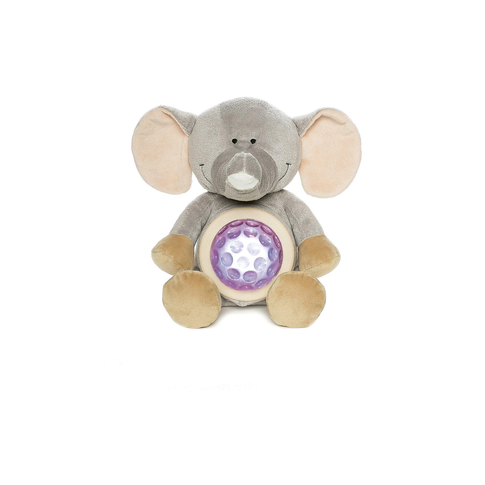 Ночник Слон, Динглисар, TeddykompanietНочники и проекторы<br>Ночник Слон, Динглисар, Teddykompaniet (Тэдди и компания) - подарит уют и спокойствие вашему малышу.<br>Ночник в виде милого улыбающегося слоненка создаст спокойную атмосферу, идеальную для того, чтобы малыш мог легко и быстро заснуть. Ночник проецирует звездное небо и работает в двух режимах. В первом режиме мягкий прозрачный свет, во втором режиме – меняет цвета (3 цвета). Чтобы активировать работу ночника, необходимо нажать на животик слона. Продукция соответствует европейским и российским стандартам качества.<br><br>Дополнительная информация:<br><br>- Размер: 23 см.<br>- Материал: текстиль<br>- Предусмотрено автоматическое отключение после 10 мин непрерывной работы<br>- Батарейки: 3 типа АА (в комплект не входят)<br><br>Ночник Слон, Динглисар, Teddykompaniet (Тэдди и компания) можно купить в нашем интернет-магазине.<br><br>Ширина мм: 250<br>Глубина мм: 150<br>Высота мм: 100<br>Вес г: 220<br>Возраст от месяцев: 0<br>Возраст до месяцев: 36<br>Пол: Унисекс<br>Возраст: Детский<br>SKU: 4902225