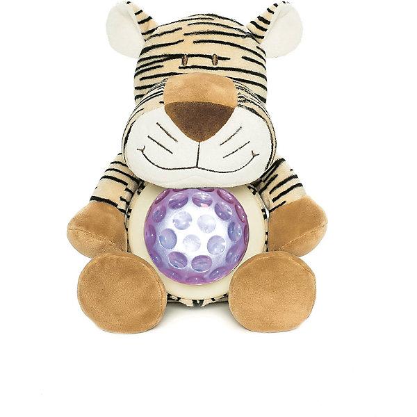 Ночник Тигр, Динглисар, TeddykompanietДетские предметы интерьера<br>Ночник Тигр, Динглисар, Teddykompaniet (Тэдди и компания) - подарит уют и спокойствие вашему малышу.<br>Ночник в виде милого улыбающегося тигренка создаст спокойную атмосферу, идеальную для того, чтобы малыш мог легко и быстро заснуть. Ночник проецирует звездное небо и работает в двух режимах. В первом режиме мягкий прозрачный свет, во втором режиме – меняет цвета (3 цвета). Чтобы активировать работу ночника, необходимо нажать на животик тигра. Продукция соответствует европейским и российским стандартам качества.<br><br>Дополнительная информация:<br><br>- Размер: 23 см.<br>- Материал: текстиль<br>- Предусмотрено автоматическое отключение после 10 мин непрерывной работы<br>- Батарейки: 3 типа АА (в комплект не входят)<br><br>Ночник Тигр, Динглисар, Teddykompaniet (Тэдди и компания) можно купить в нашем интернет-магазине.<br><br>Ширина мм: 250<br>Глубина мм: 150<br>Высота мм: 100<br>Вес г: 220<br>Возраст от месяцев: 0<br>Возраст до месяцев: 36<br>Пол: Унисекс<br>Возраст: Детский<br>SKU: 4902226