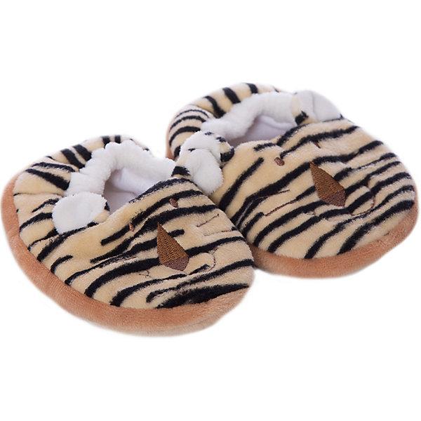 Пинетки Тигр большие 12 см, Динглисар, TeddykompanietПинетки и царапки<br>Пинетки Тигр большие 12 см, Динглисар, Teddykompaniet (Тэдди и компания) - эти мягкие удобные пинетки помогут малышу сделать первые шаги.<br>Милые пинетки Тигр от шведской компании Teddykompaniet отлично подходят для малышей, которые только учатся самостоятельно ходить. Они имеют гибкую подошву с тормозом в виде следа, что обеспечит защиту от скольжения на гладком полу. Пинетки в виде дружелюбных тигрят с торчащими ушками не только украсят ножки малыша, но и будут держать их в тепле. Мягкий, безворсовый грязеотталкивающий велюр, из которого они изготовлены, не раздражает нежную детскую кожу и подходит для малышей, склонных к аллергии. Товар полностью соответствует европейским и российским стандартам качества.<br><br>Дополнительная информация:<br><br>- На размер ножки 12 см.<br>- Материал: мягкий велюр, грязеотталкивающий<br>- Уход: ручная стирка<br><br>Пинетки Тигр большие 12 см, Динглисар, Teddykompaniet (Тэдди и компания) можно купить в нашем интернет-магазине.<br><br>Ширина мм: 50<br>Глубина мм: 100<br>Высота мм: 100<br>Вес г: 120<br>Возраст от месяцев: 0<br>Возраст до месяцев: 3<br>Пол: Унисекс<br>Возраст: Детский<br>SKU: 4902228