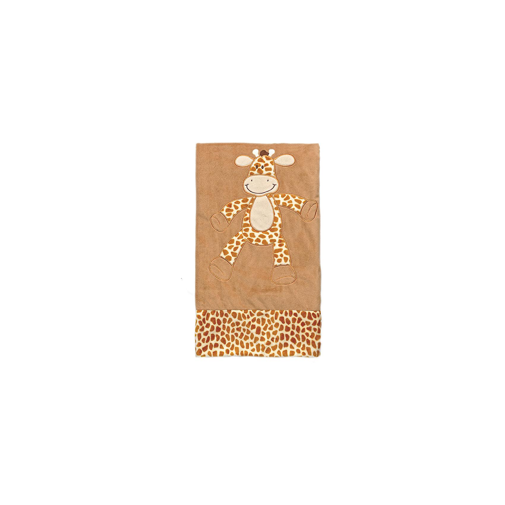 купить Teddykompaniet Плед велюр 80х80 Жираф , Динглисар, Teddykompaniet по цене 3599 рублей