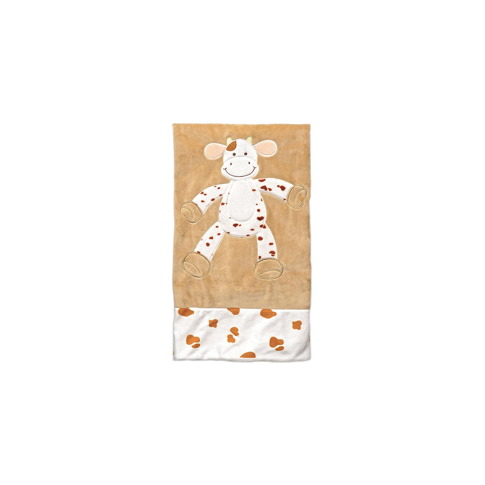 Teddykompaniet Плед велюр 80х80 Корова , Динглисар, Teddykompaniet
