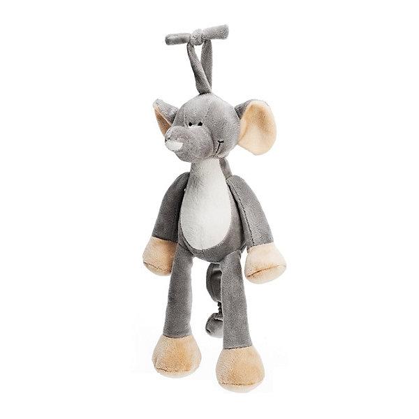 Музыкальная игрушка Слон, Динглисар, TeddykompanietДругие музыкальные инструменты<br>Характеристики мягкой игрушки Teddykompaniet:<br><br>• размер слона: 25 см;<br>• серия: Динглисар;<br>• активация музыкальных эффектов: потянуть игрушку за хвост;<br>• материал: плюш, синтетический наполнитель.<br><br>Игрушка-подвеска с музыкальным мобилем развивает тактильное восприятие малыша, слуховое восприятие, зрительное восприятие. Слон Teddykompaniet выполнен из мягкого гипоаллергенного материала, внутри мягкий наполнитель.  <br><br>Музыкальную игрушку Слон, Динглисар, Teddykompaniet можно купить в нашем интернет-магазине.<br><br>Ширина мм: 250<br>Глубина мм: 250<br>Высота мм: 100<br>Вес г: 250<br>Возраст от месяцев: 0<br>Возраст до месяцев: 36<br>Пол: Унисекс<br>Возраст: Детский<br>SKU: 4903932