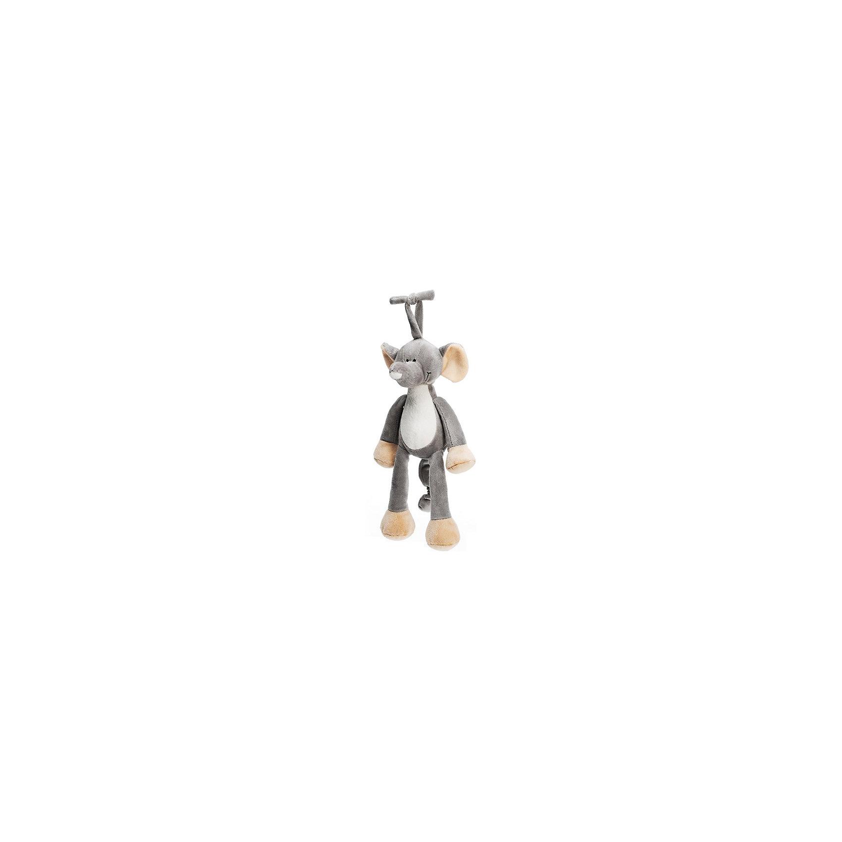 Музыкальная игрушка Слон, Динглисар, TeddykompanietМузыкальные инструменты и игрушки<br>Характеристики мягкой игрушки Teddykompaniet:<br><br>• размер слона: 25 см;<br>• серия: Динглисар;<br>• активация музыкальных эффектов: потянуть игрушку за хвост;<br>• материал: плюш, синтетический наполнитель.<br><br>Игрушка-подвеска с музыкальным мобилем развивает тактильное восприятие малыша, слуховое восприятие, зрительное восприятие. Слон Teddykompaniet выполнен из мягкого гипоаллергенного материала, внутри мягкий наполнитель.  <br><br>Музыкальную игрушку Слон, Динглисар, Teddykompaniet можно купить в нашем интернет-магазине.<br><br>Ширина мм: 250<br>Глубина мм: 250<br>Высота мм: 100<br>Вес г: 250<br>Возраст от месяцев: 0<br>Возраст до месяцев: 36<br>Пол: Унисекс<br>Возраст: Детский<br>SKU: 4903932