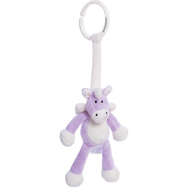 Подвесная игрушка Единорог, Динглисар, TeddykompanietМягкие игрушки животные<br>Характеристики игрушки:<br><br>• Предназначение: игрушка-подвеска<br>• Пол: универсальный<br>• Цвет: белый, сиреневый<br>• Материал: текстиль (велюр), пластик<br>• Тип крепления: пластиковое кольцо<br>• Вес: 70 гр.<br>• Размер: 14 см<br><br>Подвесная игрушка Единорог, Динглисар, Teddykompaniet от щвейцарского производителя выполнена из материалов самого высокого качества. Единорог предназначен для подвешивания на мобиль, кроватку, коляску, автокресло или стульчик для кормления. Игрушка выполнена из приятного на ощупь материала, что будет способствовать развитию тактильных ощущений. Единорог легок в уходе: его можно стирать в стиральной машине на щадящем режиме.<br><br>Подвесную игрушку Единорога, Динглисар, Teddykompaniet можно купить в нашем интернет-магазине.<br><br>Подробнее:<br>Для детей в возрасте: от 0 месяцев и до 3 лет<br>Номер товара: 4903936<br>Страна производитель: Швеция<br><br>Ширина мм: 160<br>Глубина мм: 160<br>Высота мм: 100<br>Вес г: 160<br>Возраст от месяцев: 0<br>Возраст до месяцев: 36<br>Пол: Унисекс<br>Возраст: Детский<br>SKU: 4903936