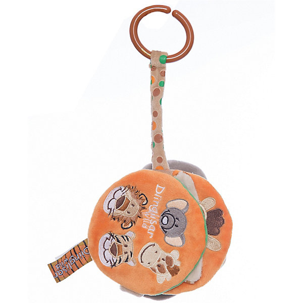 Мягкая книжка Жираф, слон, тигр, лев, Динглисар, TeddykompanietРазвивающие игрушки<br>Характеристики игрушки:<br><br>• Предназначение: мягкая книжка, для развивающих и обучающих занятий<br>• Пол: универсальный<br>• Цвет: серый, оранжевый, зеленый, коричневый<br>• Материал: текстиль (велюр), пластик<br>• Тип крепления: пластиковое кольцо<br>• Вес: 90 гр.<br><br>Мягкая книжка Жираф, слон, тигр, лев, Динглисар, Teddykompaniet от щвейцарского производителя выполнена из гипоаллергенного велюра. Книжка состоит из мягкой обложки и страниц с изображением жирафа, слона, льва и тигра. Книжка выполнена в ярком дизайне, который обязательно привлечет внимание вашего ребенка, кроме того ее можно прикрепить с помощью пластикового кольца к любой поверхности. За книжкой легко ухаживать: ее можно стирать в стиральной машине на щадящем режиме. Игры с мягкой книжкой Жираф, слон, тигр, лев, Динглисар, Teddykompaniet будут способствовать развитию зрительных и тактильных восприятий, а также развитию памяти и расширению кругозора.<br><br>Мягкую книжку Жираф, слон, тигр, лев, Динглисар, Teddykompaniet можно купить в нашем интернет-магазине.<br><br>Подробнее:<br>Для детей в возрасте: от 0 месяцев и до 3 лет<br>Номер товара: 4903939<br>Страна производитель: Швеция<br>Ширина мм: 120; Глубина мм: 120; Высота мм: 100; Вес г: 120; Возраст от месяцев: 0; Возраст до месяцев: 36; Пол: Унисекс; Возраст: Детский; SKU: 4903939;