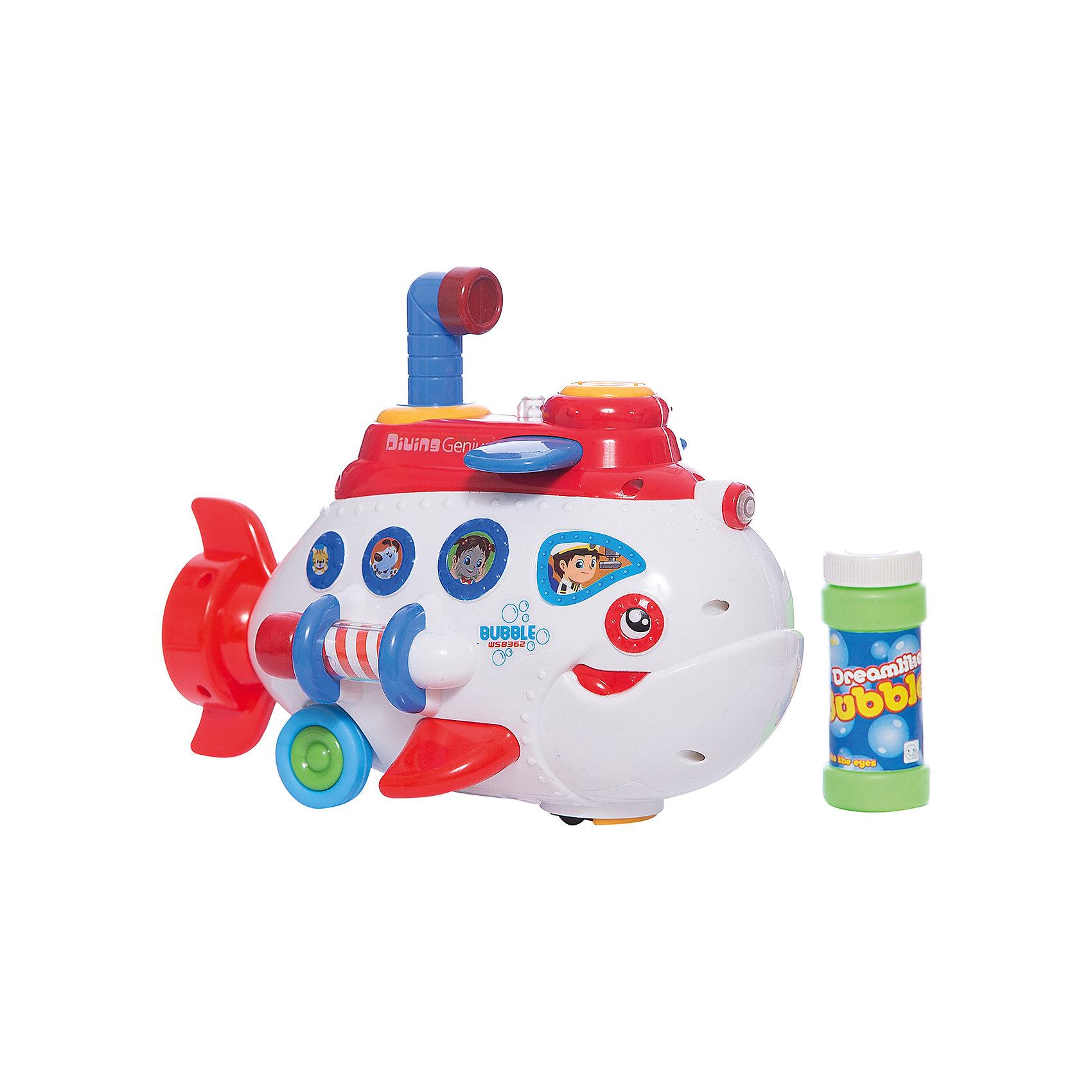 Детская игрушка, пускающая мыльные пузыри