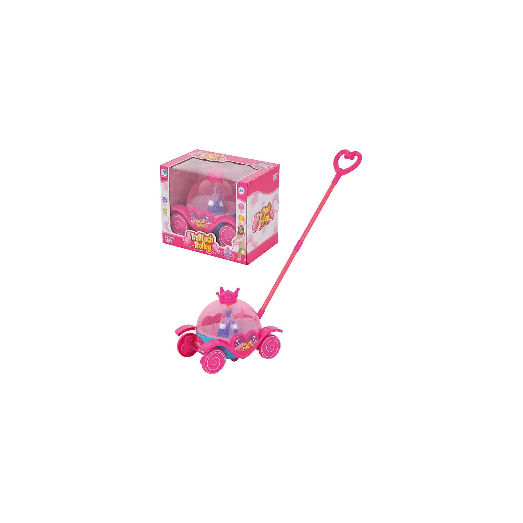- Каталка Карета Золушки chicco chicco игрушка каталка волшебная карета золушки голубой розовый