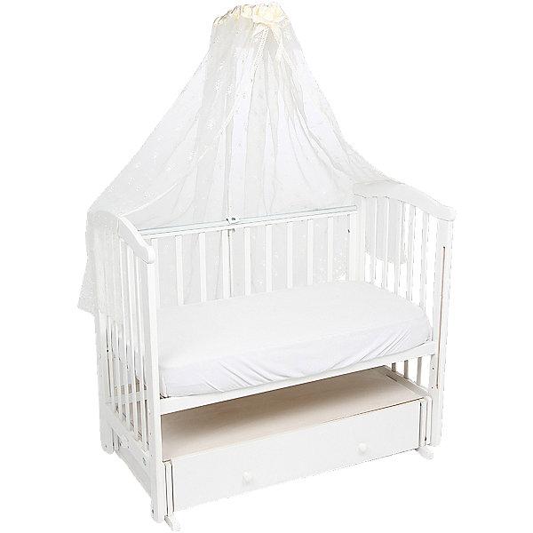 Балдахин Leader kids, молочныйДетское постельное бельё 1 предмет<br>Балдахин Leader kids, молочный предназначен для создания уютной атмосферы во время сна ребенка в кроватке. Защищает ребенка от насекомых. Балдахин изготовлен из полиэстера высокого качества с элементами из хлопка. Изделие легкое в уходе, разрешается стирка и глажение.<br>Балдахин в кроватку, Leader kids, молочный обеспечит ребенку крепкий и здоровый. Держатель для балдахина не входит в комплект.<br><br>Дополнительная информация:<br><br>- Предназначение: для детской кроватки<br>- Материал: полиэстер, хлопок<br>- Пол: для девочки/для мальчика<br>- Цвет: молочный<br>- Размеры (Д*Ш*В): 35*25*2 см<br>- Вес: 300 г<br>- Особенности ухода: разрешается стирка при температуре не более 40 градусов<br><br>Подробнее:<br><br>• Для детей в возрасте от 0 месяцев и до 3 лет<br>• Страна производитель: Россия<br>• Торговый бренд: Leader kids<br><br>Балдахин Leader kids, молочный можно купить в нашем интернет-магазине.<br><br>Ширина мм: 350<br>Глубина мм: 250<br>Высота мм: 20<br>Вес г: 2000<br>Возраст от месяцев: 0<br>Возраст до месяцев: 36<br>Пол: Унисекс<br>Возраст: Детский<br>SKU: 4904855