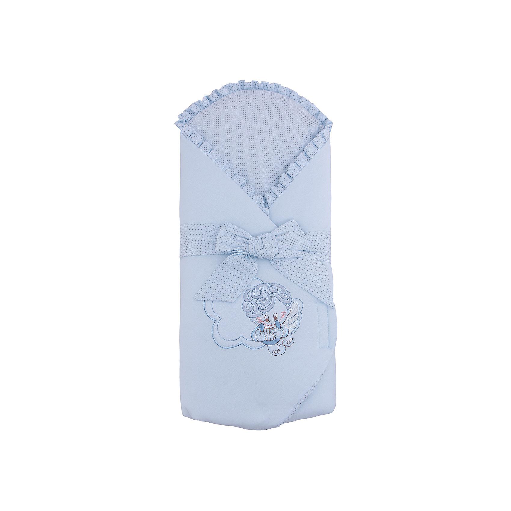 Конверт на выписку Moli, SOFIJA, голубойКонверты на выписку<br>Moli - конверт для выписки от известного польского бренда детских товаров Sofija(София). Выполнен из 100% хлопка высокого качества и отлично подойдет для прогулок после выписки. Конверт украшен декоративным бантом, оборками, вышивкой и милым принтом с ангелочком. Ткань приятна телу и не вызывает раздражения. Прогулки с таким конвертом будут комфортны и для малыша, и для родителей!<br>Дополнительная информация:<br>-застегивается на липучку<br>-съемный кокосовый матрасик<br>-украшен оборками, декоративным бантом,  принтом и вышивкой<br>-цвет: голубой<br>-состав: 100% хлопок<br>-вес: 500 грамм<br>-размер: 15х50х90 см<br>Конверт для выписки Moli можно купить в нашем интернет-магазине.<br><br>Ширина мм: 700<br>Глубина мм: 350<br>Высота мм: 35<br>Вес г: 300<br>Возраст от месяцев: -2147483648<br>Возраст до месяцев: 2147483647<br>Пол: Мужской<br>Возраст: Детский<br>SKU: 4904886