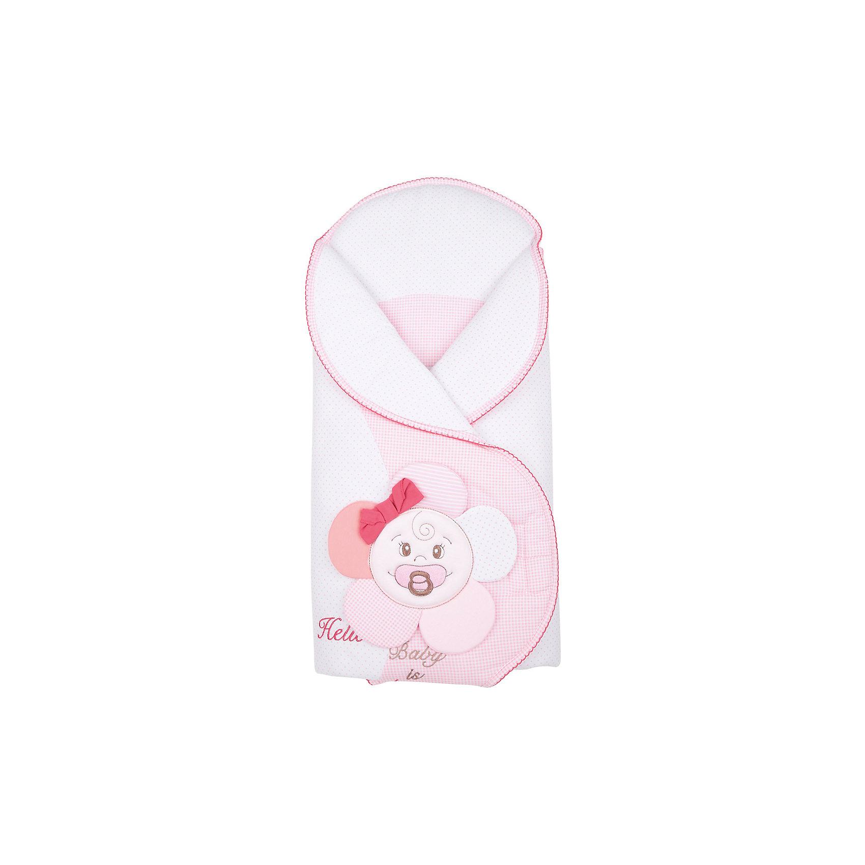 Конверт на выписку Kwiatuszek, SOFIJA, розовыйKwiatuszek - превосходный конверт для выписки от популярного польского бренда детских товаров Sofija (София). Модель застегивается липучку и с легкостью трансформируется в одеяло. Конверт изготовлен из 100 % хлопка, нежно оберегающего малыша от холода и ветра. Украшение в виде аппликации и вышивки прекрасно дополняет этот очаровательный конверт. Гулять с таким конвертом одно удовольствие!<br>Дополнительная информация:<br>-застегивается на липучку<br>-трансформируется в одеяло<br>-украшен аппликацией и вышивкой<br>-цвет: розовый<br>-состав: 100% хлопок<br>-вес: 500 грамм<br>-размер: 15х50х90 см<br>Конверт для выписки Kwiatuszek вы можете приобрести в нашем интернет-магазине.<br><br>Ширина мм: 700<br>Глубина мм: 350<br>Высота мм: 35<br>Вес г: 300<br>Возраст от месяцев: -2147483648<br>Возраст до месяцев: 2147483647<br>Пол: Женский<br>Возраст: Детский<br>SKU: 4904891