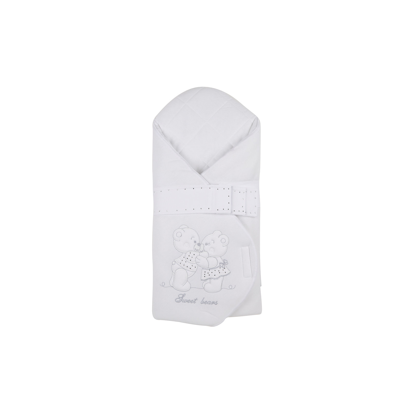 Конверт на выписку Calusek, SOFIJA, белыйCalusek - белоснежный конверт для выписки крохи из роддома от популярного польского бренда детских товаров Sofija(София). Изготовленный из мягкой качественной ткани, конверт идеально подойдет  для  нежной кожи малыша. Можно использовать для прогулок с коляской. Конверт украшен милой аппликацией, декоративным ремешком и вышивкой. Этот конверт поможет сохранить ощущение нежности первых дней!<br>Дополнительная информация:<br>-застегивается на липучку<br>-украшен аппликацией, вышивкой и декоративным ремешком<br>-материал: хлопок; утеплитель: синтепон<br>-вес: 500 грамм<br>-размер: 15х50х90 см<br>Конверт для выписки Calusek вы можете купить в нашем интернет-магазине.<br><br>Ширина мм: 700<br>Глубина мм: 350<br>Высота мм: 35<br>Вес г: 300<br>Возраст от месяцев: -2147483648<br>Возраст до месяцев: 2147483647<br>Пол: Унисекс<br>Возраст: Детский<br>SKU: 4904896