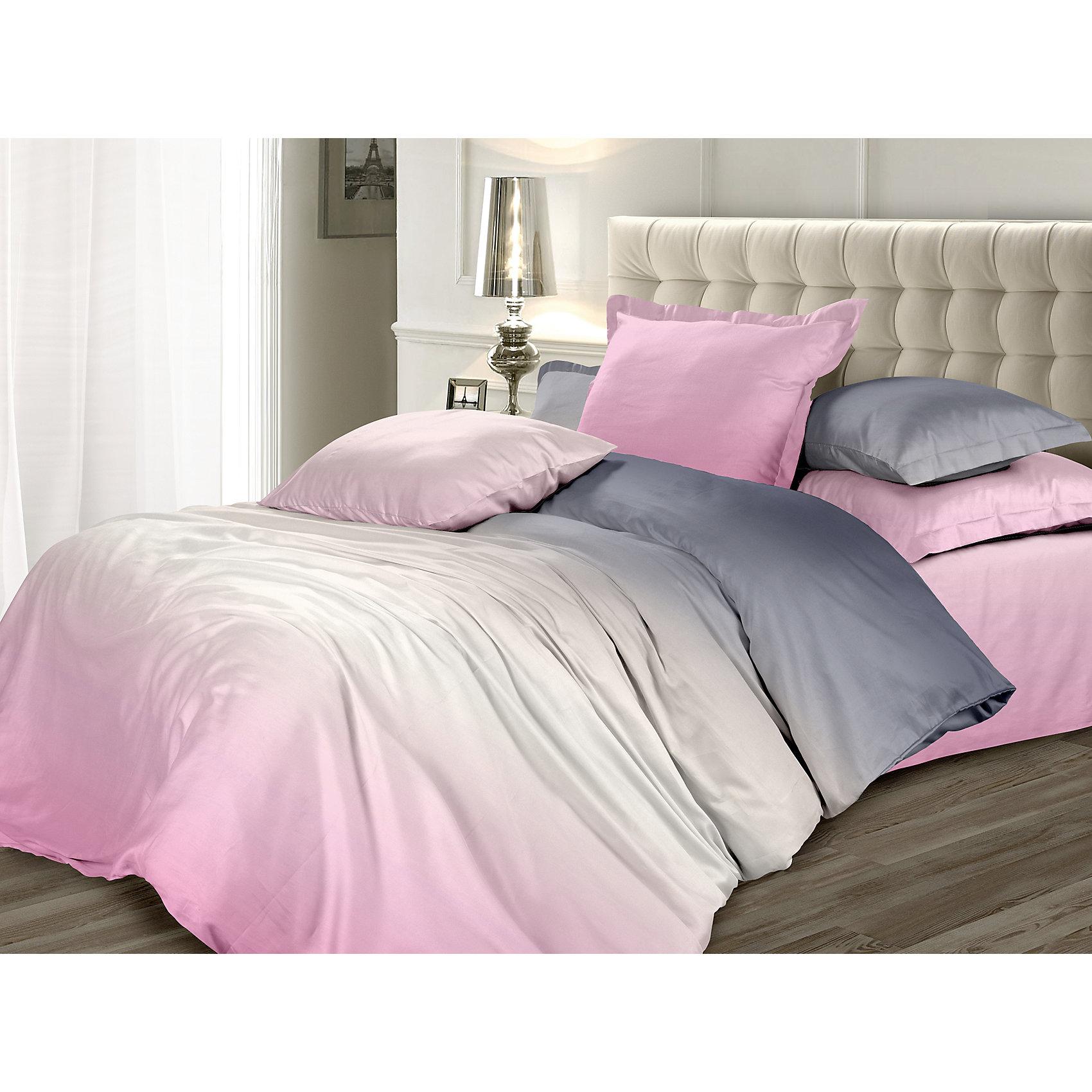 Унисон Постельное белье 2,0 Розовый Зефир, Унисон, сатин унисон постельное белье 2 0 домани сатин унисон
