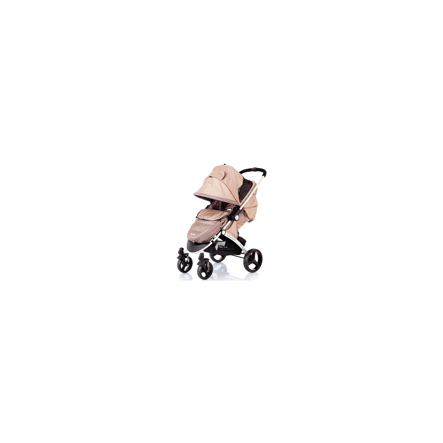 Baby Care Прогулочная коляска Seville, Baby Care, Beige/Kaki baby care прогулочная коляска seville baby care grey blue