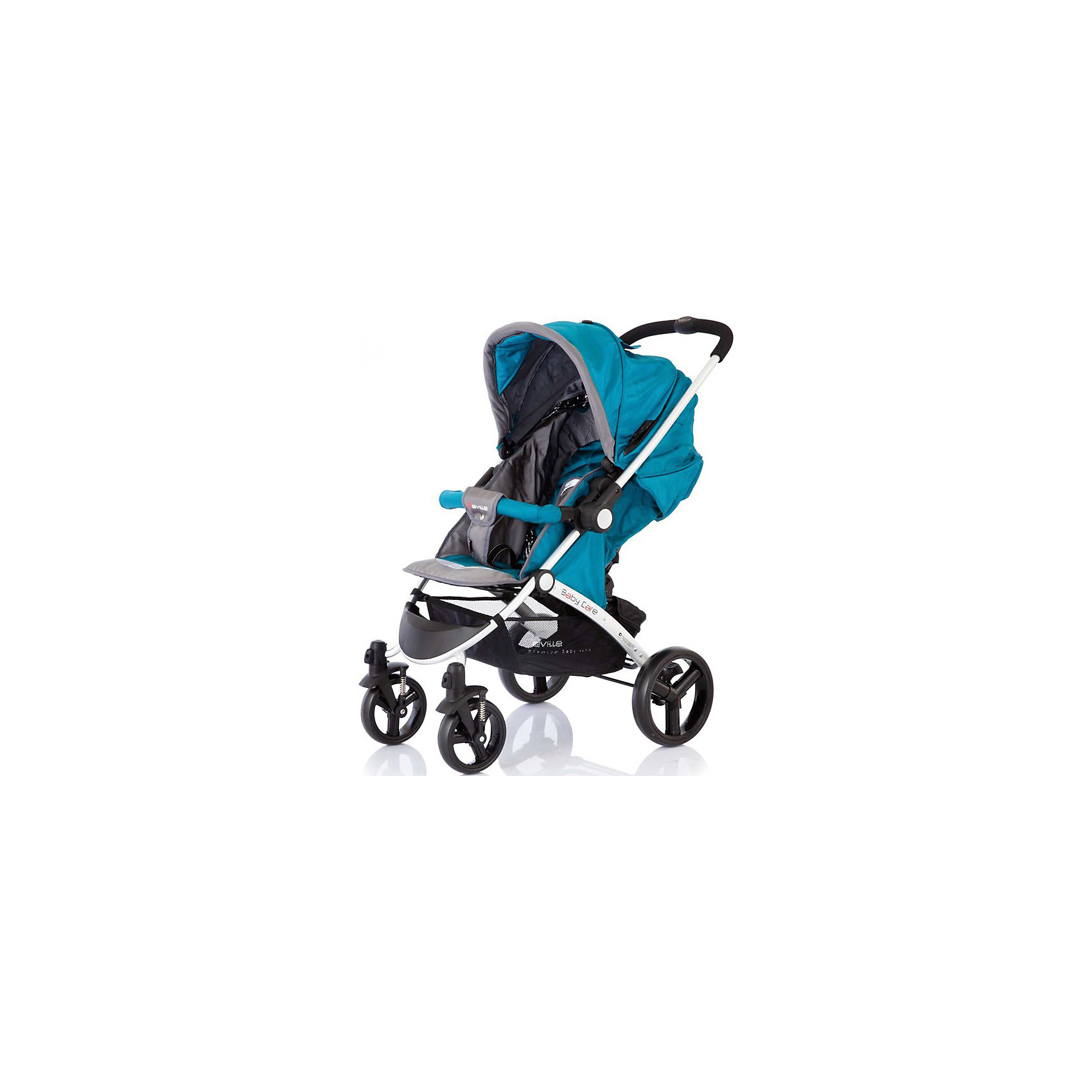 Baby Care Прогулочная коляска Seville, Baby Care, Grey/Blue цена и фото