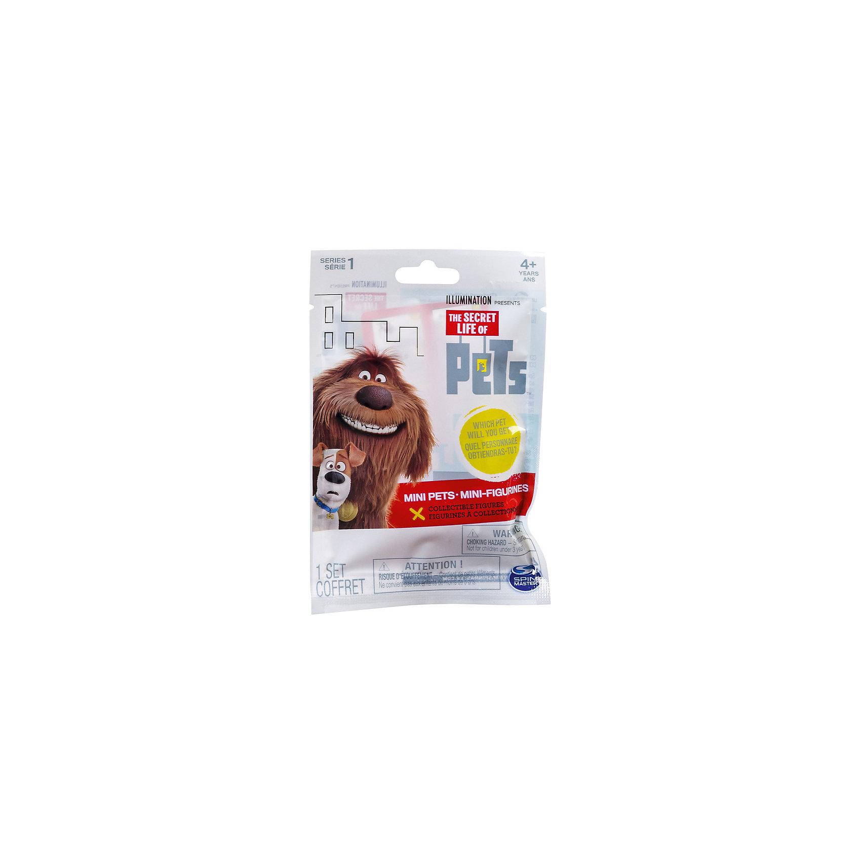 Мини-фигурка в закрытой упаковке, Тайная жизнь домашних животныхТайная жизнь домашних животных<br>Мини-фигурка в закрытой упаковке, Тайная жизнь домашних животных.<br><br>Характеристики:<br><br>- В наборе: 1 мини-фигурка<br>- Материал: пластик<br>- Размер: от 3 до 5 см.<br><br>В мягком пакете с прозрачным окошком Вы найдете пластиковую фигурку одного из героев мультфильма «Тайная жизнь домашних животных», размером от 3 до 5 см. В пакетике находится одна мини-фигурка, и только заглянув внутрь можно узнать, кто именно там спрятался! Игрушка с точностью повторяет внешний вид анимационного героя, у фигурки весьма забавные, характерные для персонажа поза и выражение мордашки. Фигурка изготовлена из высококачественного приятного на ощупь пластика, детально проработана, очень аккуратно окрашена, не имеет подвижных частей. С фигуркой можно придумывать разнообразные сюжеты и истории, либо использовать в качестве декорирования комнаты, начав собирать полную коллекцию героев мультфильма. Всего имеется 12 различных фигурок, отдельные персонажи, например, Макс и Снежок, представлены в нескольких вариантах.<br><br>Мини-фигурку в закрытой упаковке, Тайная жизнь домашних животных можно купить в нашем интернет-магазине.<br><br>Ширина мм: 95<br>Глубина мм: 145<br>Высота мм: 20<br>Вес г: 25<br>Возраст от месяцев: 36<br>Возраст до месяцев: 144<br>Пол: Унисекс<br>Возраст: Детский<br>SKU: 4905836