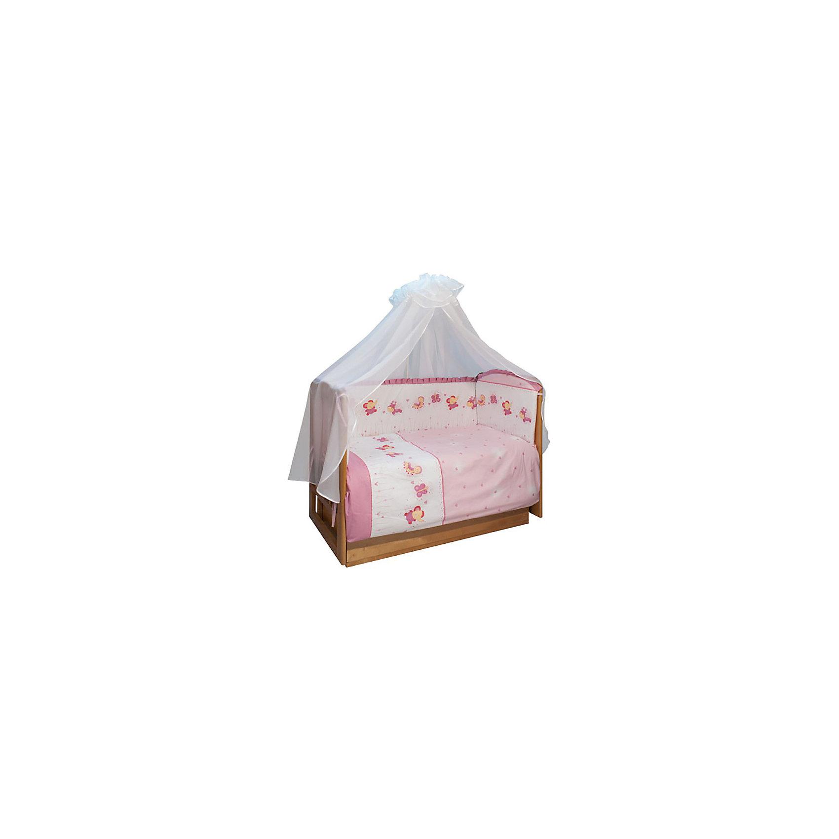 Бортик в кроватку Ласковое лето, Soni kids, розовыйПостельное бельё<br>Очень красивый и невероятно нежный бортик на кроватку.<br>Пусть Ваш малыш спит в удобстве и безопасности!<br><br>Дополнительная информация:<br><br>- Размер бортика: 360х44 см.<br>- Материал: верх: поплин.<br>- Наполнитель: антиаллергенный холлофайбер.<br>- Цвет: розовый.<br>- Размер упаковки: 10х60х43 см.<br>- Вес в упаковке: 600 г.<br><br>Купить бортик на кроватку Ласковое лето от Soni kids в розовом цвете, можно в нашем магазине.<br><br>Ширина мм: 100<br>Глубина мм: 600<br>Высота мм: 430<br>Вес г: 600<br>Возраст от месяцев: 0<br>Возраст до месяцев: 36<br>Пол: Женский<br>Возраст: Детский<br>SKU: 4905953