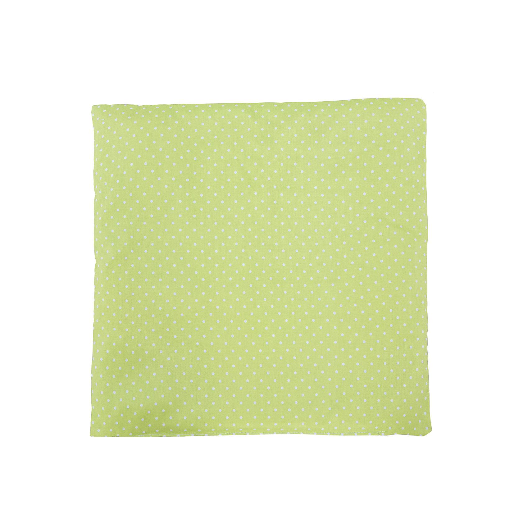 Подушка 40х40, Горошки, Soni kids, салатовыйЭто красивая и очень удобная подушка, сделанная специально для Вашего малыша!<br><br>Дополнительная информация:<br><br>- Размер подушки: 40х40 см.<br>- Материал: 100% хлопок.<br>- Наполнитель: антиаллергенный холлофайбер.<br>- Цвет: салатовый.<br>- Размер упаковки: 40х40х10 см.<br>- Вес в упаковке: 600 г.<br><br>Купить подушку Горошки от Soni Kids, в салатовом цвете, можно в нашем магазине.<br><br>Ширина мм: 400<br>Глубина мм: 400<br>Высота мм: 100<br>Вес г: 600<br>Возраст от месяцев: 0<br>Возраст до месяцев: 36<br>Пол: Унисекс<br>Возраст: Детский<br>SKU: 4905956