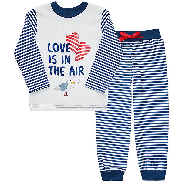 Пижама  для девочки KotMarKotПижамы и сорочки<br>Пижама  для девочки  известной марки KotMarKot.<br><br>Состав: 100% хлопок<br><br>Данную пижаму вы можете купить в нашем магазине.<br><br>Ширина мм: 281<br>Глубина мм: 70<br>Высота мм: 188<br>Вес г: 295<br>Цвет: синий/белый<br>Возраст от месяцев: 18<br>Возраст до месяцев: 24<br>Пол: Женский<br>Возраст: Детский<br>Размер: 92,122,116,110,104,98<br>SKU: 4906518