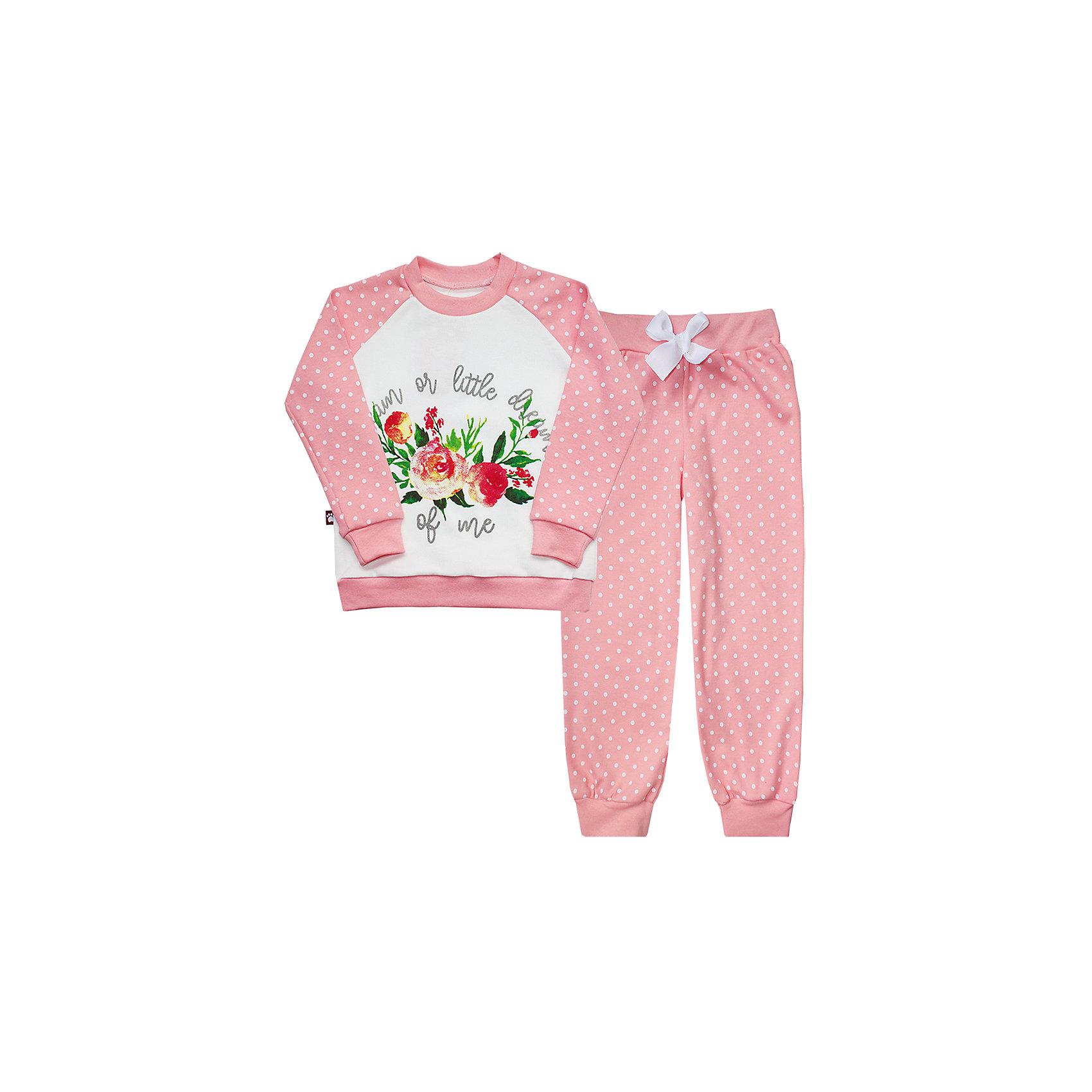 КотМарКот Пижама  для девочки КотМарКот брюки котмаркот штанишки звездное небо
