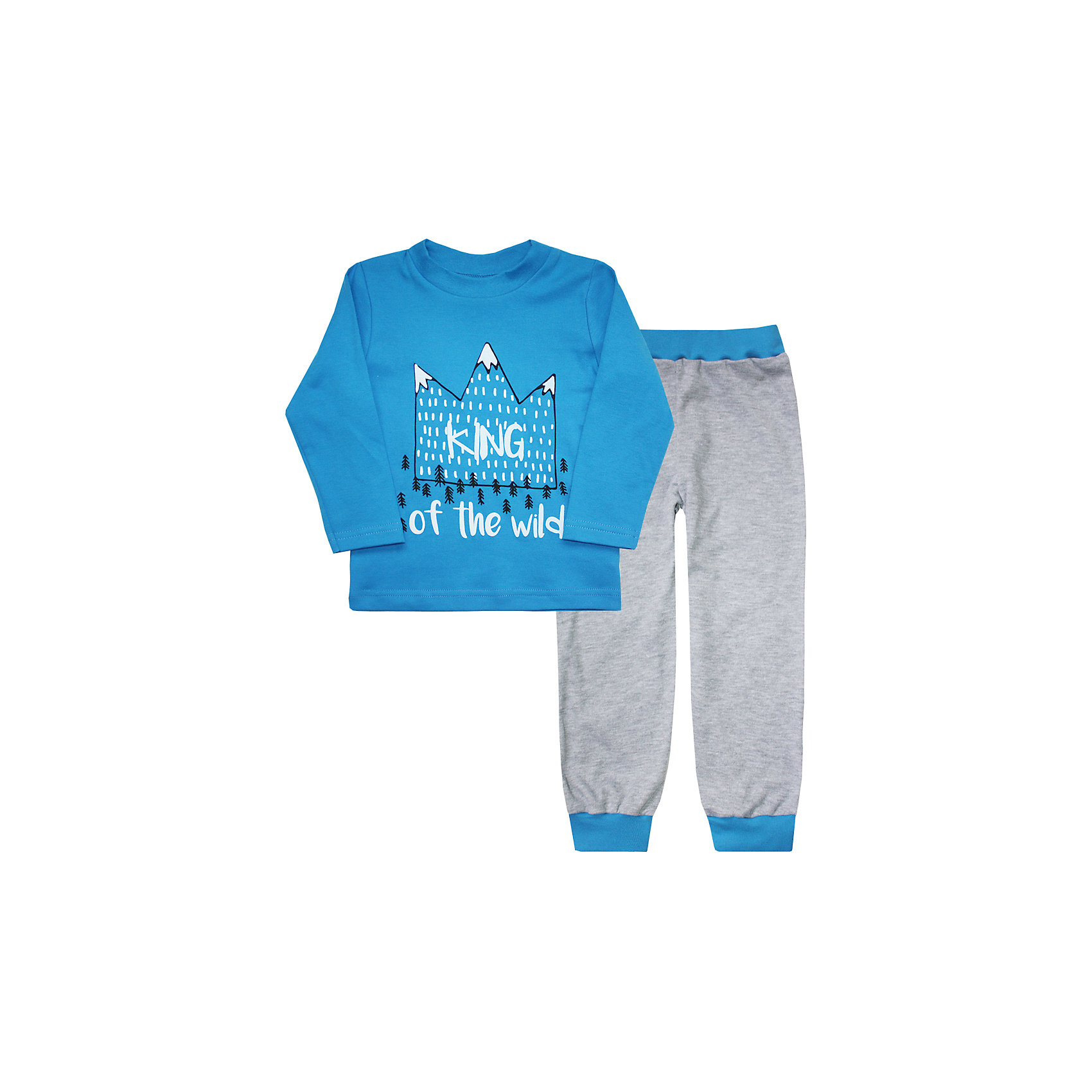 КотМарКот Пижама  для мальчика КотМарКот брюки котмаркот штанишки звездное небо