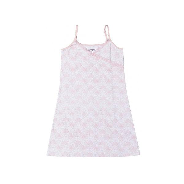 Ночная сорочка для девочки ScoolПижамы и сорочки<br>Ночная сорочка для девочки от известного бренда Scool. Удобная хлопковая ночная сорочка на нежных регулирующихся бретелях. Приятный белый цвет в сочетании с классическим дизайном оборок и розовыми узорами придет по вкусу вашей моднице. <br><br>Дополнительная информация:<br>- Бретели: регулируются<br>- Силуэт: расширенный к низу<br><br>Состав: 95% хлопок 5% эластан<br><br>Ночную сорочку для девочек  Scool можно купить в нашем интернет-магазине.<br><br>Подробнее:<br>• Для детей в возрасте: от 9 до 14 лет<br>• Номер товара: 4911346<br>Страна производитель: Китай<br>Ширина мм: 281; Глубина мм: 70; Высота мм: 188; Вес г: 295; Цвет: розовый; Возраст от месяцев: 96; Возраст до месяцев: 108; Пол: Женский; Возраст: Детский; Размер: 134,158,140,164,152,146; SKU: 4911345;