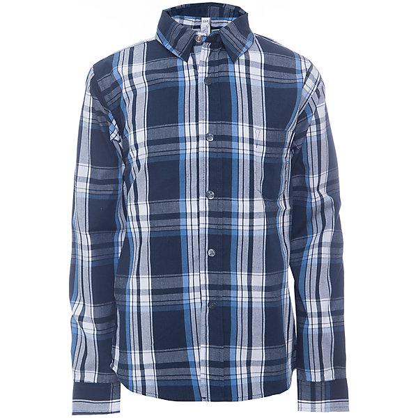 Рубашка для мальчика ScoolБлузки и рубашки<br>Рубашка для мальчика от известного бренда Scool. Стильная и удобная рубашка на каждый день, застегивается на синие кнопки, декорированные буквой S. Приятные темно-синие тона клетки прекрасно сочетаются с белым цветом и придет по вкусу вашему ребенку.  Рубашка отлично подойдет как к брюкам, так и к джинсам, ее можно носить поверх футболки не застегивая.<br><br>Дополнительная информация:<br><br>- Рукав: длинный<br>- Силуэт: прямой<br>Состав: 60% хлопок, 40% полиэстер<br><br>Рубашку для мальчиков Scool можно купить в нашем интернет-магазине.<br><br>Подробнее:<br>• Для детей в возрасте: от 9 до 12 лет<br>• Номер товара: 4911367<br>Страна производитель: Китай<br>Ширина мм: 174; Глубина мм: 10; Высота мм: 169; Вес г: 157; Цвет: белый; Возраст от месяцев: 132; Возраст до месяцев: 144; Пол: Мужской; Возраст: Детский; Размер: 152,146,134,158,164,140; SKU: 4911366;