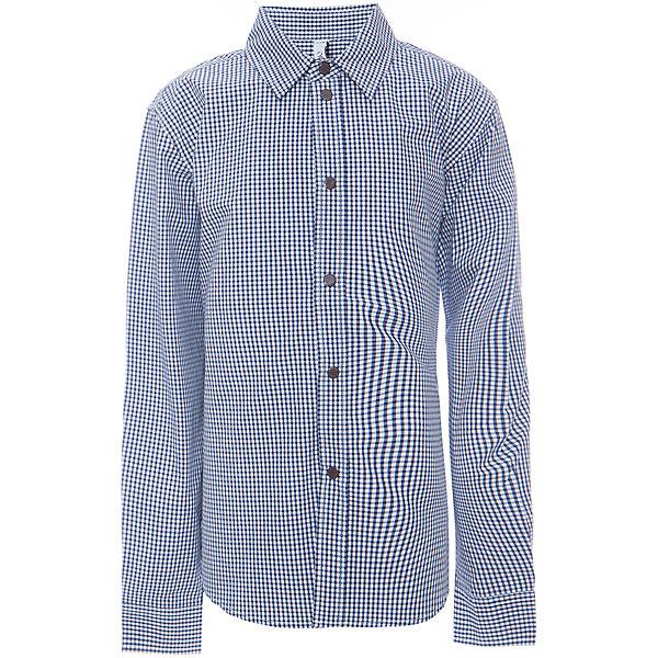 Рубашка для мальчика ScoolБлузки и рубашки<br>Рубашка для мальчика из коллекции «Скорость» от известного бренда Scool. Стильная и удобная хлопковая рубашка на каждый день, застегивается на кнопки, декорированные буквой S. Приятная мелкая темно-синяя клетка прекрасно сочетаются с серым цветом рубашки и придет по вкусу вашему ребенку. Рубашка отлично подойдет как к брюкам, так и к джинсам, ее можно носить поверх футболки не застегивая.<br><br>Дополнительная информация:<br><br>- Рукав: длинный<br>- Силуэт: прямой<br>Состав: 100% хлопок <br><br>Рубашку для мальчиков Scool можно купить в нашем интернет-магазине.<br><br>Подробнее:<br>• Для детей в возрасте: от 9 до 12 лет<br>• Номер товара: 4911430<br>Страна производитель: Китай<br><br>Ширина мм: 174<br>Глубина мм: 10<br>Высота мм: 169<br>Вес г: 157<br>Цвет: синий<br>Возраст от месяцев: 120<br>Возраст до месяцев: 132<br>Пол: Мужской<br>Возраст: Детский<br>Размер: 146,158,164,140,152,134<br>SKU: 4911429