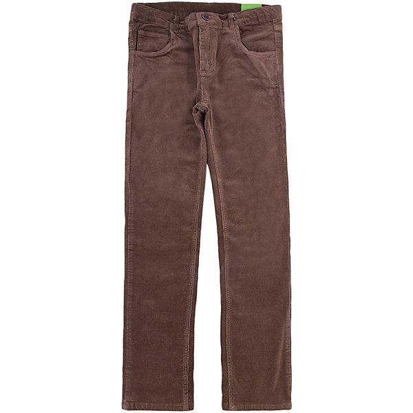 Брюки для мальчика ScoolБрюки<br>Брюки для мальчика из коллекции «Скорость» от известного бренда Scool. Стильные вельветовые брюки на каждый день приятного бежево-коричневого цвета сделаны из хлопка. Брюки на молнии, имеют классические джинсовые 5 карманов, прекрасно подойдут как к рубашкам, так и к футболкам.<br><br>Дополнительная информация:<br>- Силуэт прямой <br><br>Состав: 98% хлопок, 2% эластан<br><br>Брюки для мальчиков Scool можно купить в нашем интернет-магазине.<br>.<br>Подробнее:<br>• Для детей в возрасте: от 9 до 12 лет<br>• Номер товара: 4911437<br>Страна производитель: Китай<br>Ширина мм: 215; Глубина мм: 88; Высота мм: 191; Вес г: 336; Цвет: коричневый; Возраст от месяцев: 132; Возраст до месяцев: 144; Пол: Мужской; Возраст: Детский; Размер: 152,164,146,134,140,158; SKU: 4911436;