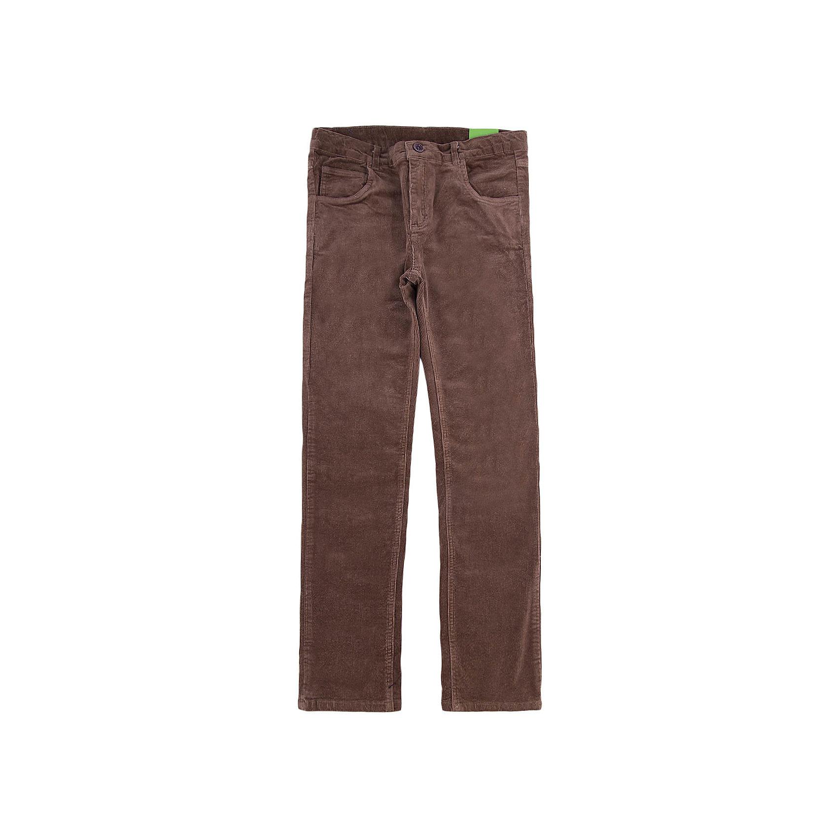 Брюки для мальчика ScoolБрюки<br>Брюки для мальчика из коллекции «Скорость» от известного бренда Scool. Стильные вельветовые брюки на каждый день приятного бежево-коричневого цвета сделаны из хлопка. Брюки на молнии, имеют классические джинсовые 5 карманов, прекрасно подойдут как к рубашкам, так и к футболкам.<br><br>Дополнительная информация:<br>- Силуэт прямой <br><br>Состав: 98% хлопок, 2% эластан<br><br>Брюки для мальчиков Scool можно купить в нашем интернет-магазине.<br>.<br>Подробнее:<br>• Для детей в возрасте: от 9 до 12 лет<br>• Номер товара: 4911437<br>Страна производитель: Китай<br><br>Ширина мм: 215<br>Глубина мм: 88<br>Высота мм: 191<br>Вес г: 336<br>Цвет: коричневый<br>Возраст от месяцев: 120<br>Возраст до месяцев: 132<br>Пол: Мужской<br>Возраст: Детский<br>Размер: 146,158,140,134,164,152<br>SKU: 4911436