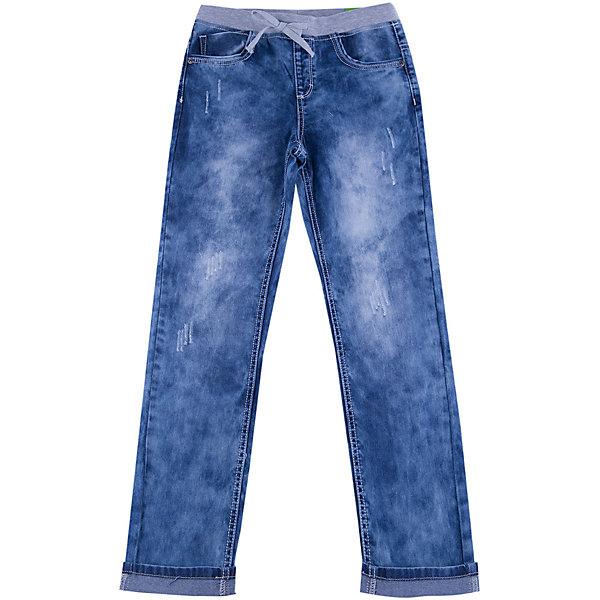 Джинсы для мальчика ScoolДжинсовая одежда<br>Джинсы для мальчика из коллекции «Скорость» от известного бренда Scool. Стильные джинсы на каждый день синего «вареного» цвета сделаны из хлопка. Джинсы на серой резинке со шнурком, имеют классические 5 карманов, прекрасно подойдут как к рубашкам, так и к футболкам. Штанины рассчитаны на подворот. Эти джинсыпридут по вкусу вашему чемпиону.<br><br>Дополнительная информация:<br>- Силуэт: зауженный <br><br>Состав: 100% хлопок <br><br>Джинсы для мальчиков Scool можно купить в нашем интернет-магазине.<br><br>Подробнее:<br>• Для детей в возрасте: от 9 до 13 лет<br>• Номер товара: 4911444<br>Страна производитель: Китай<br><br>Ширина мм: 215<br>Глубина мм: 88<br>Высота мм: 191<br>Вес г: 336<br>Цвет: синий<br>Возраст от месяцев: 120<br>Возраст до месяцев: 132<br>Пол: Мужской<br>Возраст: Детский<br>Размер: 140,134,164,146,158,152<br>SKU: 4911450