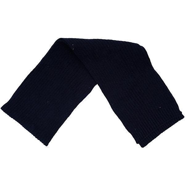 Шарф для мальчика ScoolШарфы, платки<br>Шарф для мальчика из коллекции «Скорость» от известного бренда Scool. Удобный шарф из вязанного трикотажа на осень/весну. Приятный темно-синий цвет шарфа сочетается с классическим стилем шарфа. Мягкий материал приятен для носки и защищает от ветра и холода. Шарф отлично подойдет как к пальто, так и к пуховикам и курткам. <br><br>Дополнительная информация:<br>Состав: 60% хлопок, 40% акрил<br><br>Шарф для мальчика Scool можно купить в нашем интернет-магазине.<br><br>Подробнее:<br>• Для детей в возрасте: от 8 до 14 лет<br>• Номер товара: 4911520<br>Страна производитель: Китай<br><br>Ширина мм: 88<br>Глубина мм: 155<br>Высота мм: 26<br>Вес г: 106<br>Цвет: синий<br>Возраст от месяцев: 108<br>Возраст до месяцев: 168<br>Пол: Мужской<br>Возраст: Детский<br>Размер: one size<br>SKU: 4911519