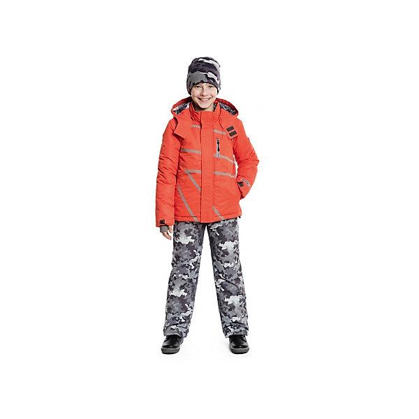 Куртка для мальчика ScoolВерхняя одежда<br>Куртка для мальчика Scool – надежная защита от холода и дождя.<br>Яркая куртка со светоотражающими полосками сделана из непромокаемого материала. Специальная ветрозащитная планка на липучках у капюшона позволяет защитить шею от продувания. Низ куртки можно затянуть стопером. Под внешним слоем, внизу, есть подкладка, застегнув которую, ребенок также будет защищен от ветра. От попадания снега или воды в рукавах на куртке предусмотрены трикотажные манжеты с отверстием для пальца. <br><br>Дополнительная информация:<br><br>- материал: верх и подкладка – 100% полиэстер, наполнитель 100% полиэстер<br>- цвет: оранжевый<br><br>Куртку для мальчика Scool можно купить в нашем интернет магазине.<br><br>Ширина мм: 356<br>Глубина мм: 10<br>Высота мм: 245<br>Вес г: 519<br>Цвет: оранжевый<br>Возраст от месяцев: 96<br>Возраст до месяцев: 108<br>Пол: Мужской<br>Возраст: Детский<br>Размер: 134,164,158,152,146,140<br>SKU: 4911551