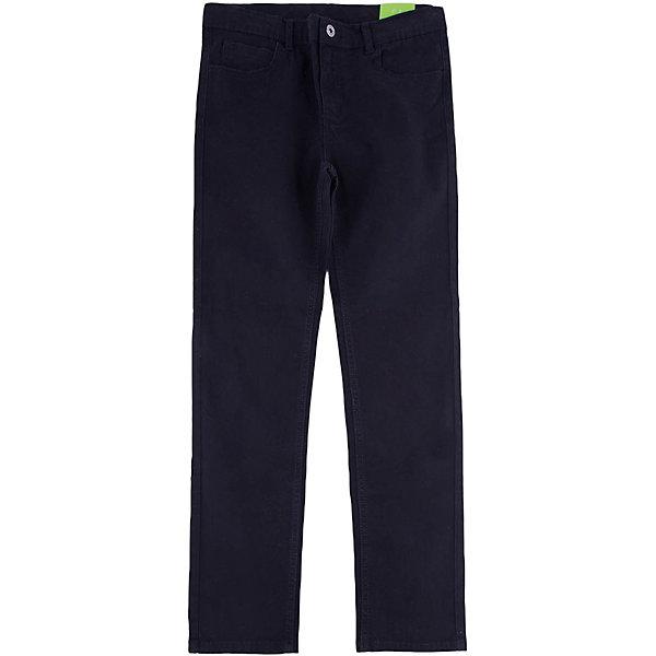 Брюки для мальчика ScoolБрюки<br>Брюки для мальчика Scool – классика и стиль для юных модников.<br>Черные брюки прямого кроя подойдут как для школьной формы, так и просто для постоянной носки. Застегиваются на молнию, при необходимости можно вставить ремень. Материал не притягивает пыль. Как и в обычных моделях, брюки имеют пять карманов: три впереди, два сзади.<br><br>Дополнительная информация:<br><br>- материал: 98% хлопок, 2% эластан<br>- цвет: черный<br><br>Брюки для мальчика Scool можно купить в нашем интернет магазине.<br>Ширина мм: 215; Глубина мм: 88; Высота мм: 191; Вес г: 336; Цвет: черный; Возраст от месяцев: 132; Возраст до месяцев: 144; Пол: Мужской; Возраст: Детский; Размер: 152,146,158,140,164,134; SKU: 4911586;