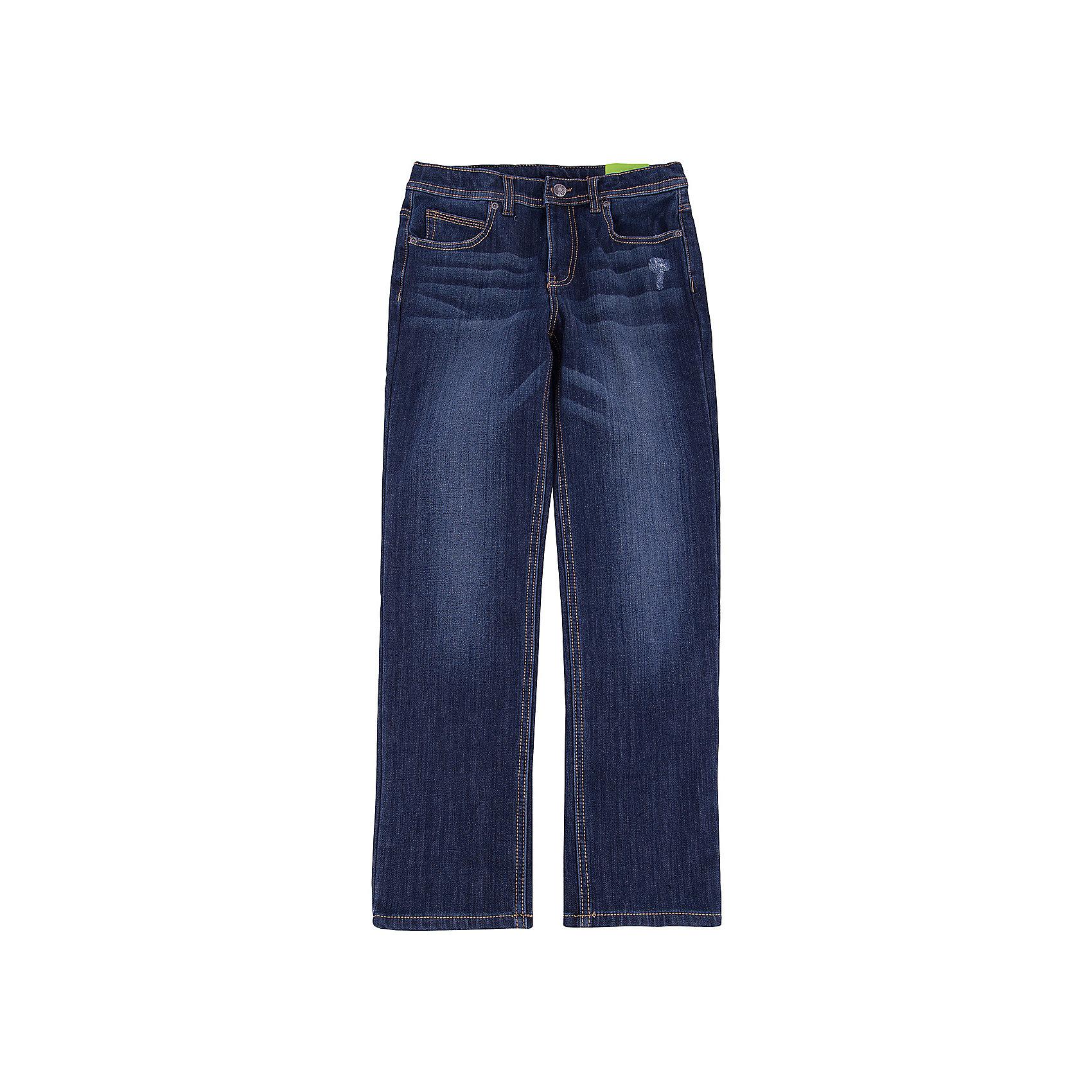 Джинсы для мальчика ScoolДжинсы для мальчика Scool – мода и стиль для подростков. <br>Классические темно-синие джинсы прямого покроя. Не сковывают движение, хорошо тянутся. Имеют пять карманов: три впереди, два сзади. Застегиваются на молнию, при необходимости можно вставить ремень. Можно стирать в машинке. Быстро сохнут.<br><br>Дополнительная информация:<br>- материал: 62% хлопок, 23% вискоза, 13% полиэстер, 2% эластан<br>- цвет: темно-синий<br><br>Джинсы для мальчика Scool можно купить в нашем интернет магазине.<br><br>Ширина мм: 215<br>Глубина мм: 88<br>Высота мм: 191<br>Вес г: 336<br>Цвет: синий<br>Возраст от месяцев: 120<br>Возраст до месяцев: 132<br>Пол: Мужской<br>Возраст: Детский<br>Размер: 146,134,164,158,152,140<br>SKU: 4911593