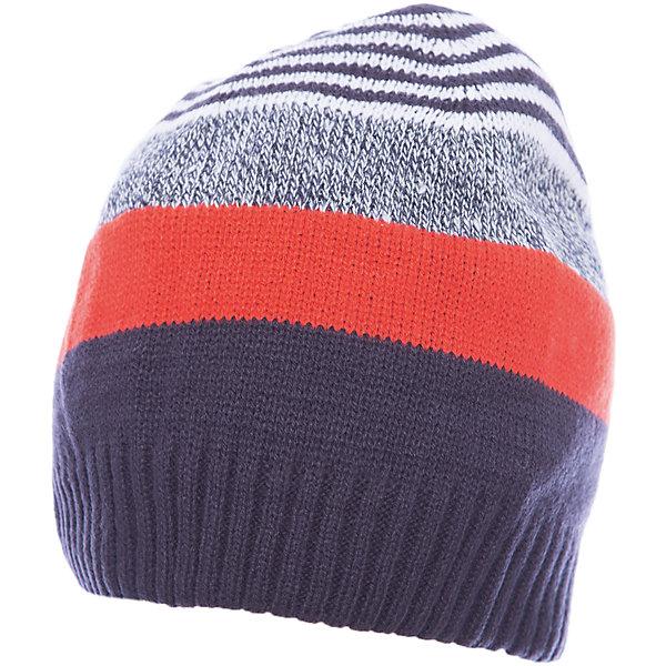 Шапка для мальчика ScoolГоловные уборы<br>Шапка для мальчика Scool – отличное сочетание качества и классического внешнего вида.<br>Стильная и яркая шапка с удобной резинкой, не позволяющей слететь с головы, защитит голову и уши от холода. Благодаря тому, что шапка двухслойная, ее можно носить в очень холодное время, не боясь, что ребенок замерзнет. Подойдет для активных прогулок. Сделана из качественного материала, который не вызывает аллергию.<br><br>Дополнительная информация:<br><br>- материал: 100% акрил<br>- цвет: серый, оранжевый, белый<br><br>Шапку для мальчика Scool можно купить в нашем интернет магазине.<br>Ширина мм: 89; Глубина мм: 117; Высота мм: 44; Вес г: 155; Цвет: белый; Возраст от месяцев: 72; Возраст до месяцев: 84; Пол: Мужской; Возраст: Детский; Размер: 54,56; SKU: 4911638;