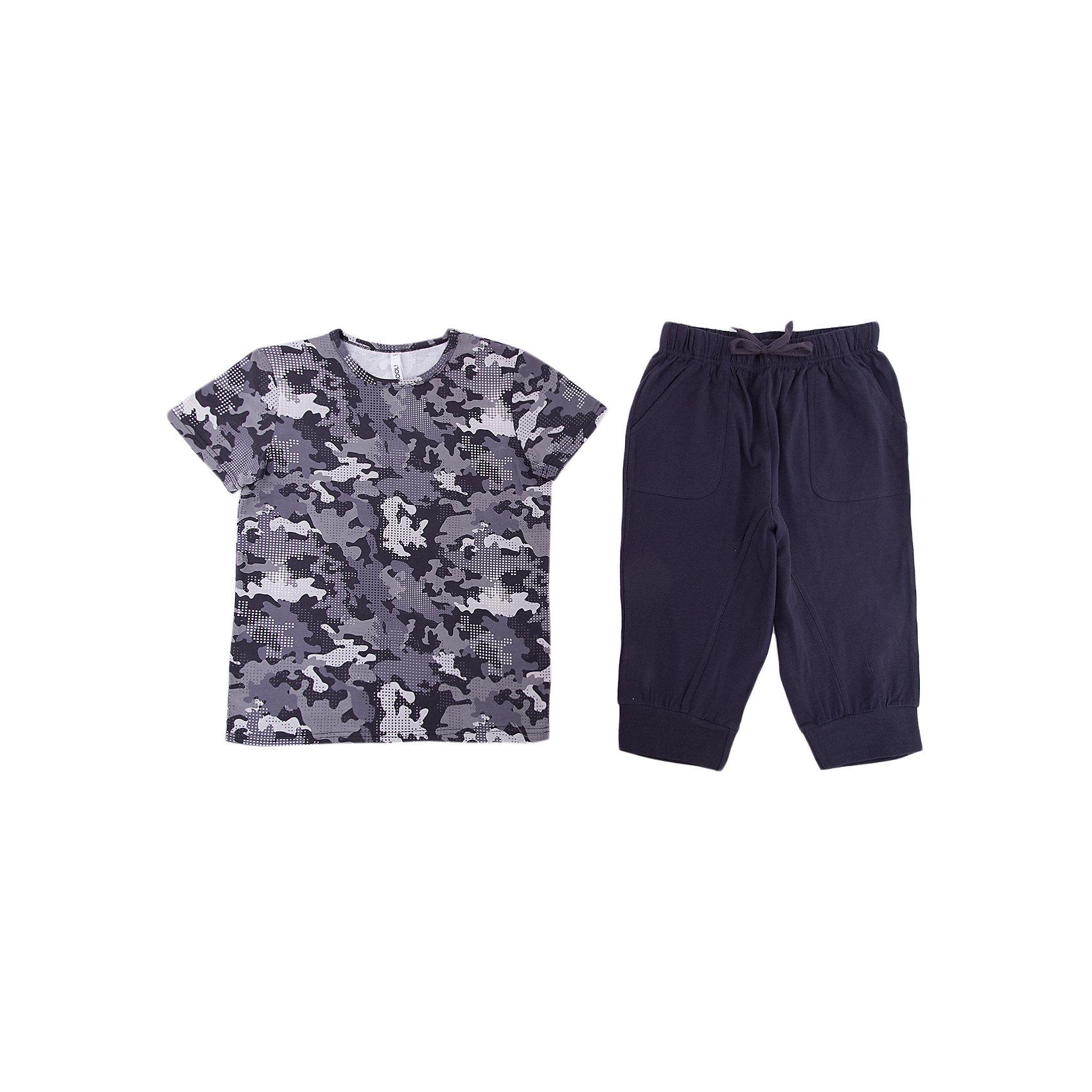 S'cool Комплект: футболка и бриджи для мальчика S'cool бриджи unistyle бриджи