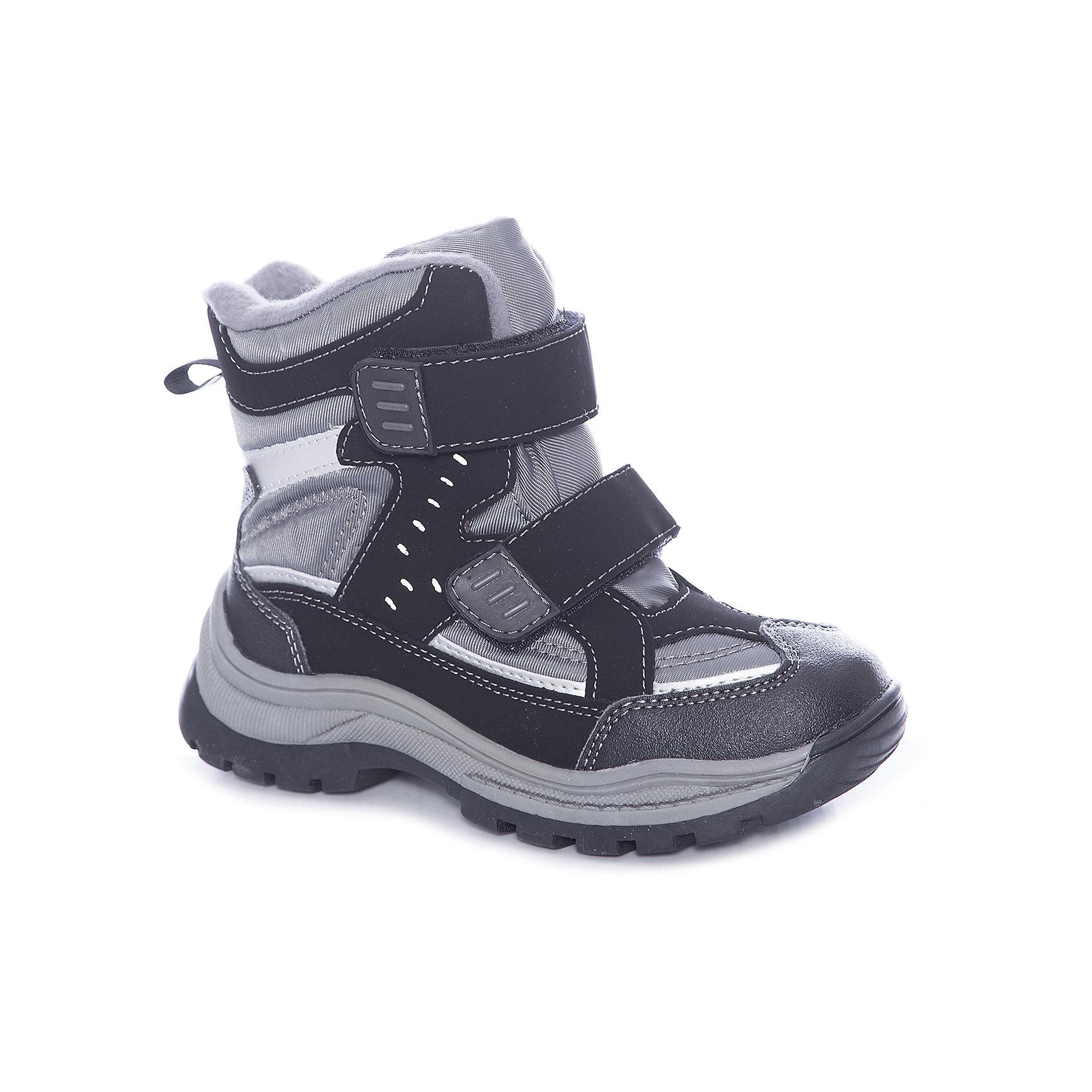 Ботинки для мальчика ScoolБотинки<br>Ботинки для мальчика Scool – удобство и комфорт в одной обуви.<br>Мягкие ботинки выполнены из искусственной кожи и текстиля. Застегиваются на липучки, что очень удобно для детей. Подошва с рифлением против скольжения. Не пропускают влагу, оставляя ноги сухими и теплыми. Сами ботинки сделаны с учетом правильного формирования стопы. <br><br>Дополнительная информация:<br><br>- материал: 60% искусственная кожа, 40% ПЭ<br>- цвет: серый<br><br>Ботинки для мальчика Scool можно купить в нашем интернет магазине.<br><br>Ширина мм: 257<br>Глубина мм: 180<br>Высота мм: 130<br>Вес г: 420<br>Цвет: черный<br>Возраст от месяцев: 144<br>Возраст до месяцев: 156<br>Пол: Мужской<br>Возраст: Детский<br>Размер: 36,34,37,31,32,38,35,33<br>SKU: 4911756