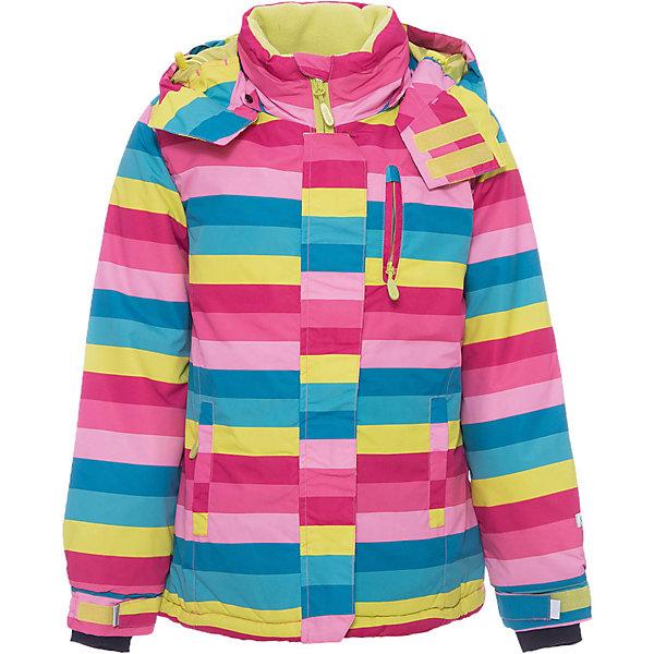Куртка для девочки ScoolВерхняя одежда<br>Куртка для девочки Scool – надежная защита от холода и дождя.<br>Яркая куртка сделана из непромокаемого материала. Специальная ветрозащитная планка на липучках у капюшона позволяет защитить шею от продувания. Низ куртки можно затянуть стопером. Под внешним слоем, внизу, есть подкладка, застегнув которую, ребенок также будет защищен от ветра. От попадания снега или воды в рукава на куртке предусмотрены трикотажные манжеты с отверстием для пальца. <br><br>Дополнительная информация:<br><br>- материал: верх и подкладка – 100% полиэстер, наполнитель 100% полиэстер<br>- цвет: желтый, розовый, голубой<br><br>Куртка для девочки Scool можно купить в нашем интернет магазине.<br><br>Ширина мм: 356<br>Глубина мм: 10<br>Высота мм: 245<br>Вес г: 519<br>Цвет: белый<br>Возраст от месяцев: 132<br>Возраст до месяцев: 144<br>Пол: Женский<br>Возраст: Детский<br>Размер: 152,146,140,158,164,134<br>SKU: 4911773