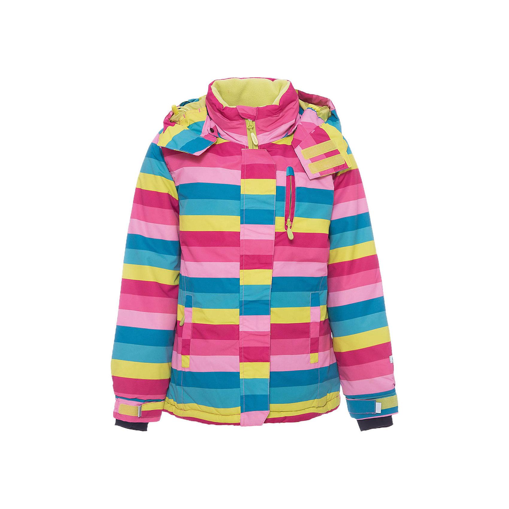 Куртка для девочки ScoolВерхняя одежда<br>Куртка для девочки Scool – надежная защита от холода и дождя.<br>Яркая куртка сделана из непромокаемого материала. Специальная ветрозащитная планка на липучках у капюшона позволяет защитить шею от продувания. Низ куртки можно затянуть стопером. Под внешним слоем, внизу, есть подкладка, застегнув которую, ребенок также будет защищен от ветра. От попадания снега или воды в рукава на куртке предусмотрены трикотажные манжеты с отверстием для пальца. <br><br>Дополнительная информация:<br><br>- материал: верх и подкладка – 100% полиэстер, наполнитель 100% полиэстер<br>- цвет: желтый, розовый, голубой<br><br>Куртка для девочки Scool можно купить в нашем интернет магазине.<br><br>Ширина мм: 356<br>Глубина мм: 10<br>Высота мм: 245<br>Вес г: 519<br>Цвет: белый<br>Возраст от месяцев: 132<br>Возраст до месяцев: 144<br>Пол: Женский<br>Возраст: Детский<br>Размер: 152,146,134,164,158,140<br>SKU: 4911773