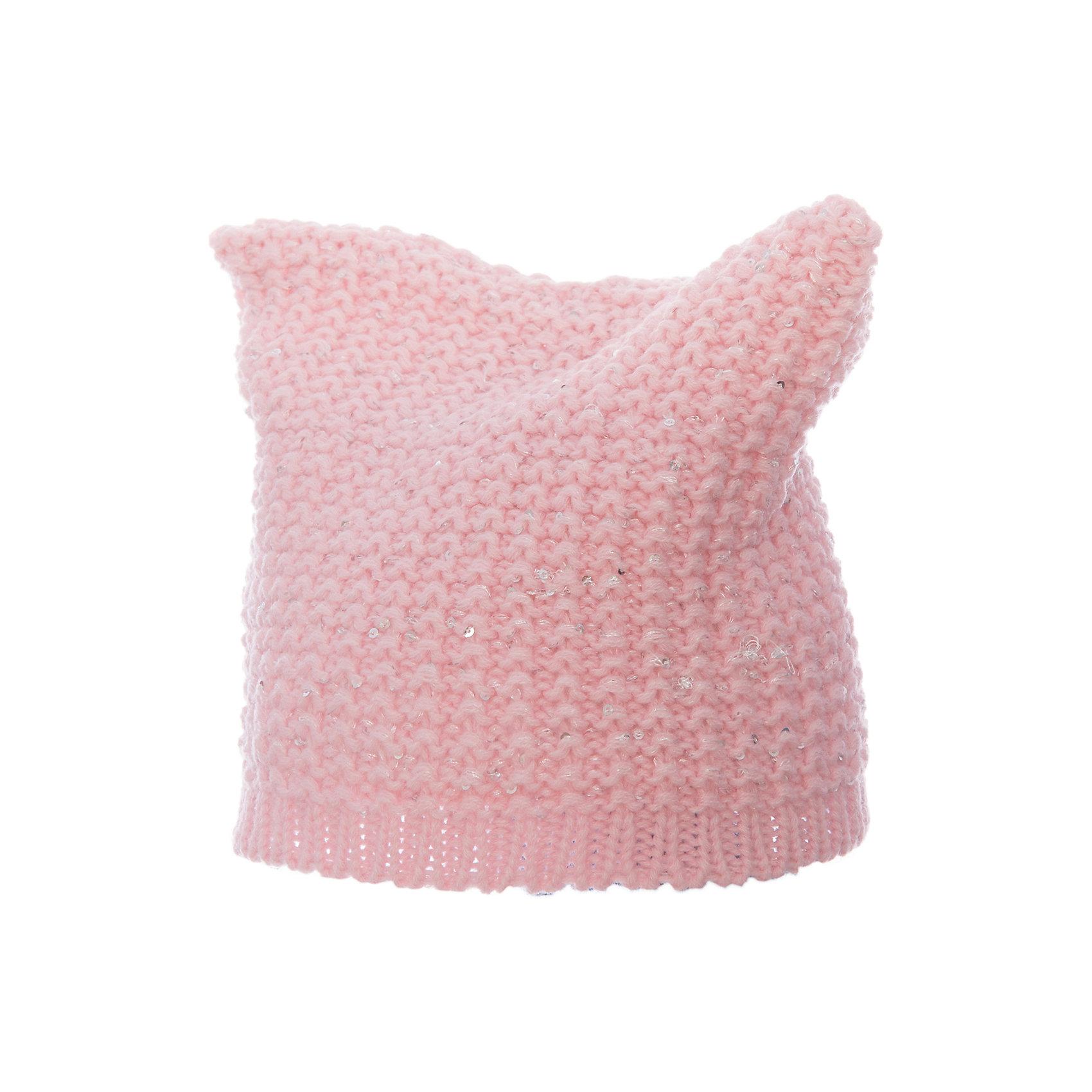 Шапка для девочки ScoolГоловные уборы<br>Шапка для девочки Scool – уютная и теплая вещь для зимних прогулок.<br>Теплая вязаная шапочка розового цвета отлично сочетается с любым пальто. Украшена она пайетками с серебристым отливом. Внутри есть подкладка, которая не только приятная коже, но и дополнительно защищает голову от ветра и мороза. Квадратная форма шапки создает «ушки». <br><br>Дополнительная информация:<br><br>- материал: 100% акрил, подкладка: 100% полиэстер<br>- цвет: розовый<br><br>Шапка для девочки Scool можно купить в нашем интернет магазине.<br><br>Ширина мм: 89<br>Глубина мм: 117<br>Высота мм: 44<br>Вес г: 155<br>Цвет: розовый<br>Возраст от месяцев: 72<br>Возраст до месяцев: 84<br>Пол: Женский<br>Возраст: Детский<br>Размер: 54,56<br>SKU: 4911934